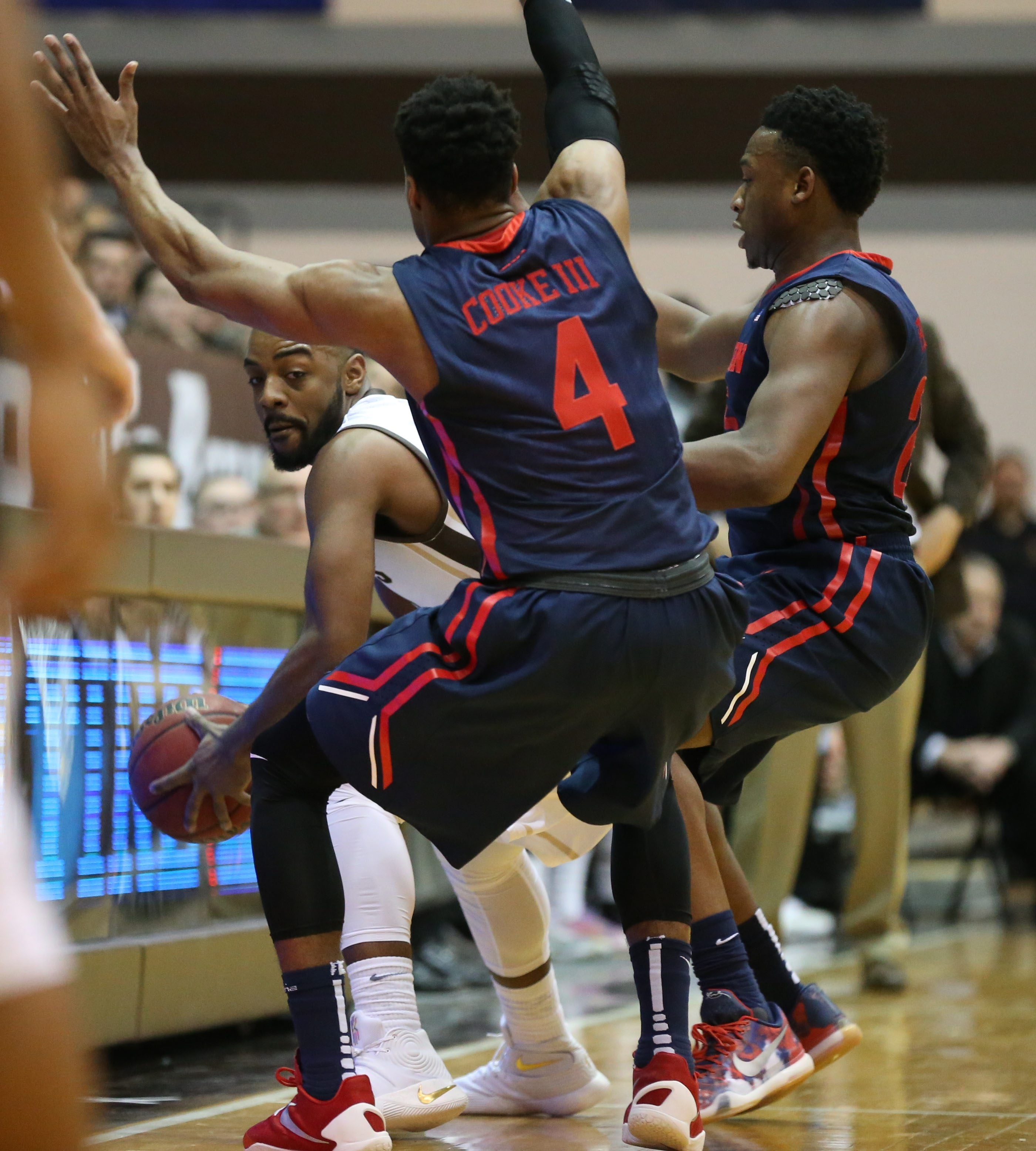 Guard Marcus Posley and St. Bonaventure will be looking for room to maneuver during Saturday's rematch with Dayton, the Atlantic 10's top defensive team.