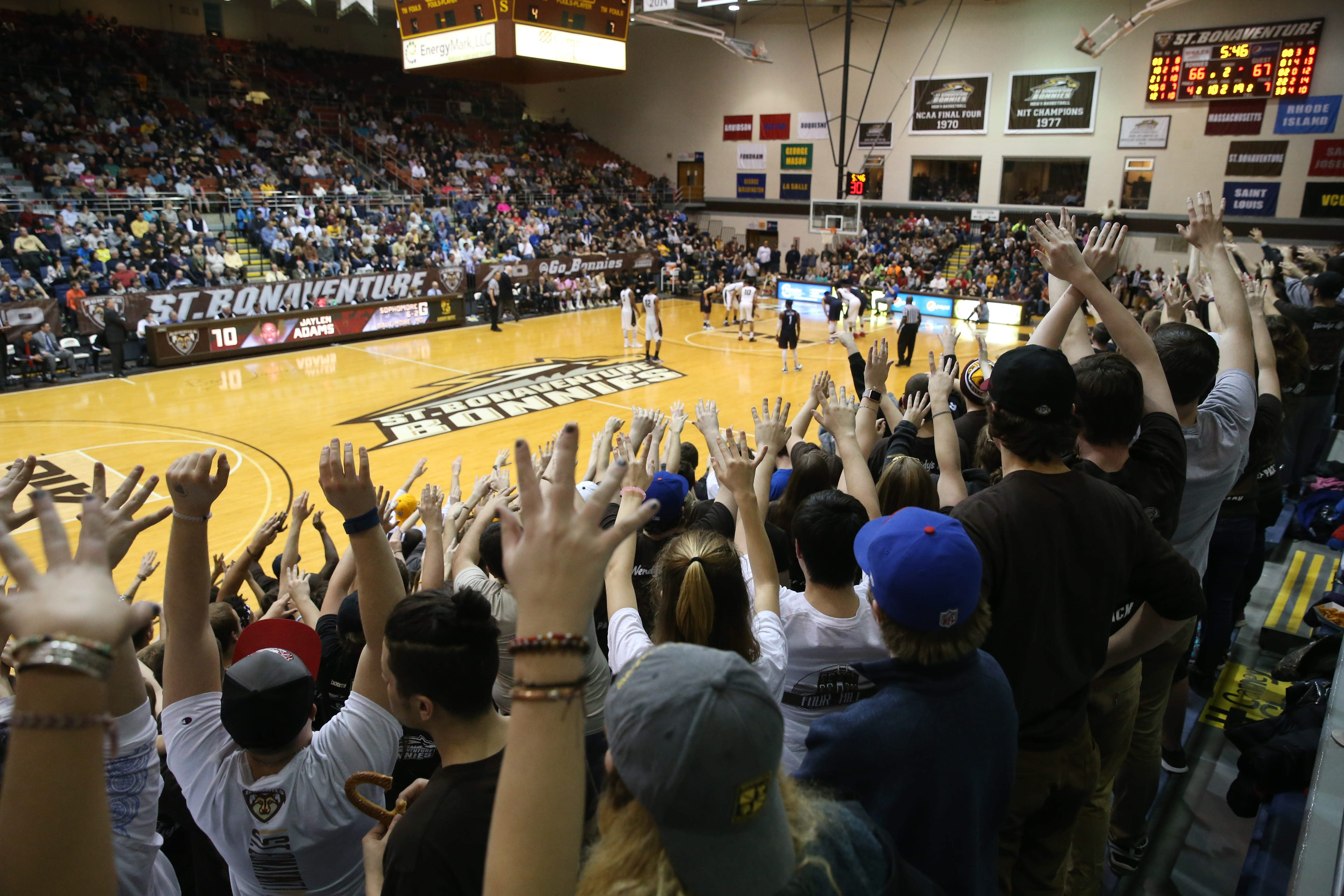 100 Things: Attend a St. Bonaventure basketball game