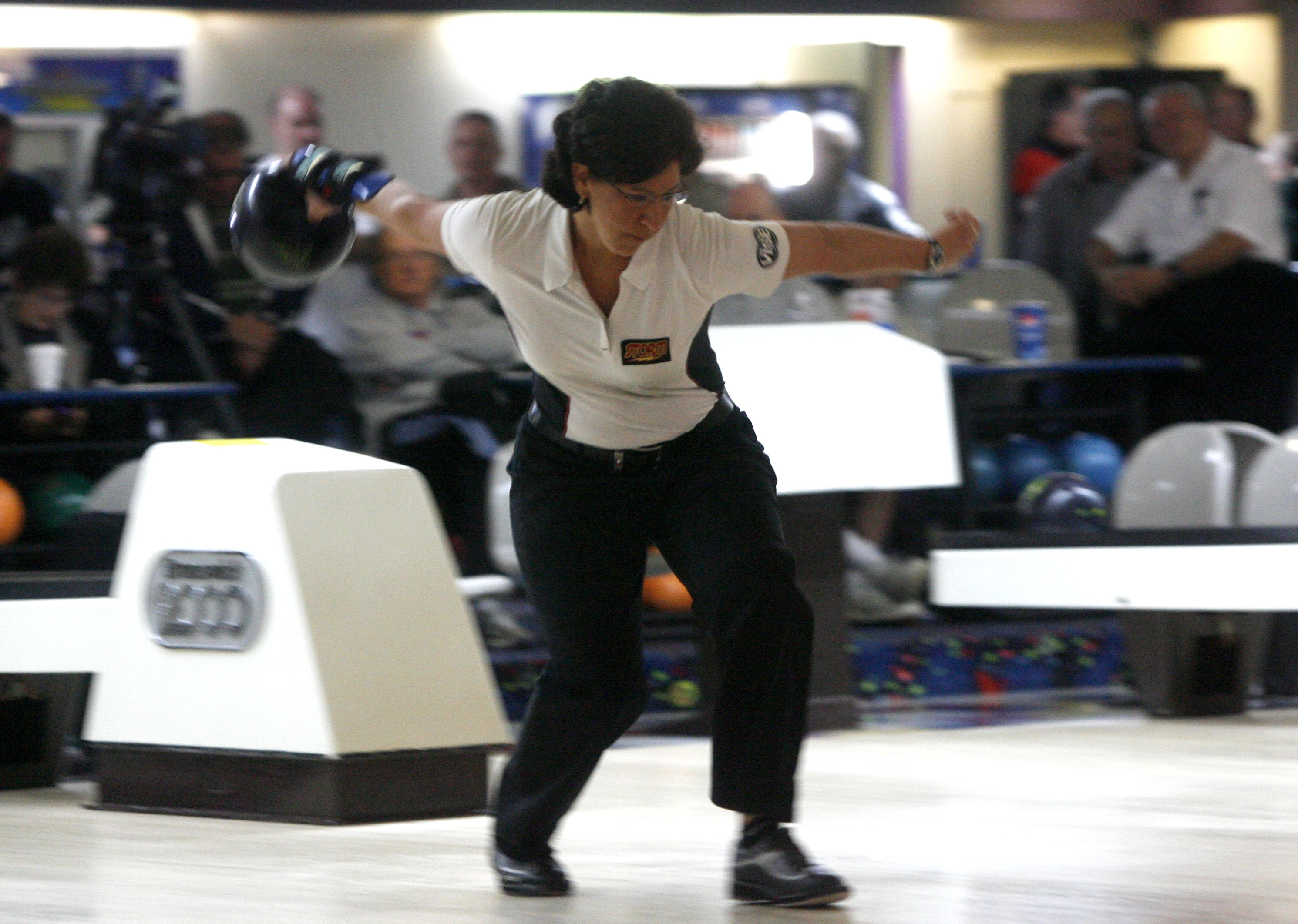Among her career firsts: Liz Johnson was the first woman to win the Greater Buffalo USBC Association Obenauer Masters.
