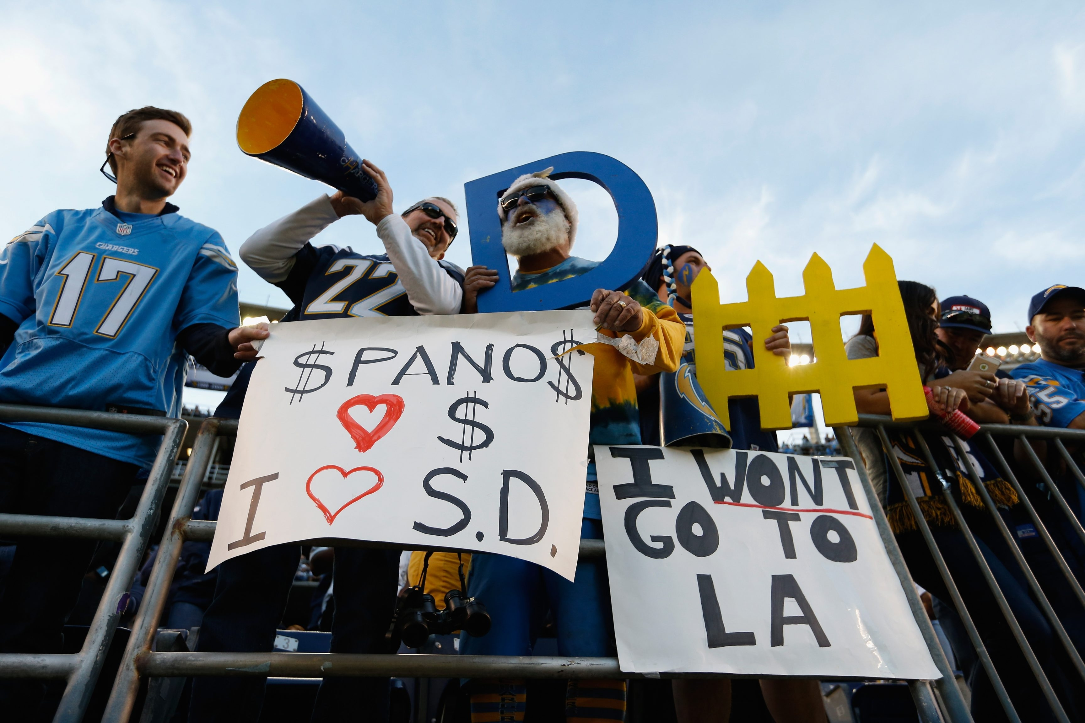San Diego Chargers fans will have at least one more season to cheer on their team, but will it be more?