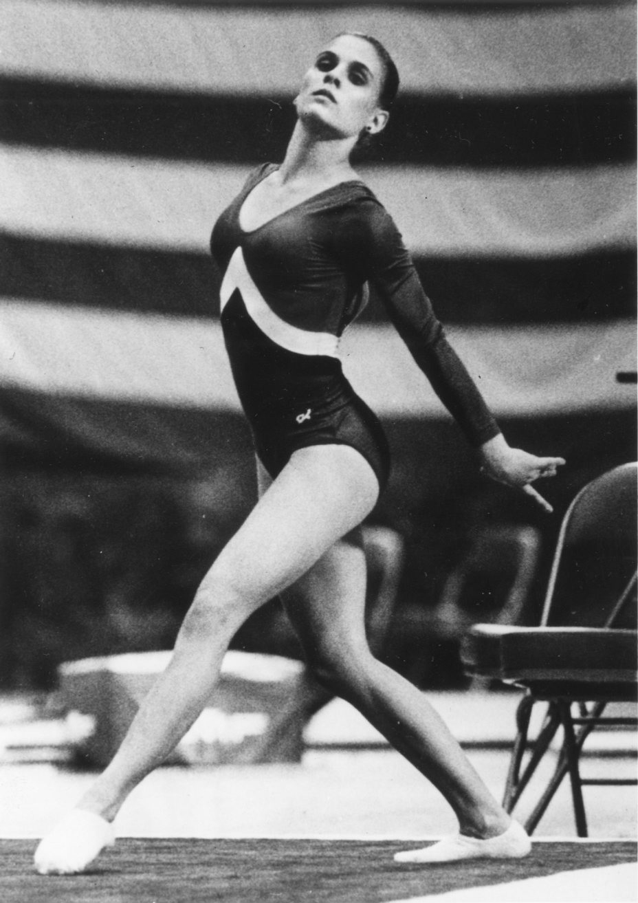 Lisa Zeis won NCAA championships on balance beam and floor exercise during her career at Arizona State.