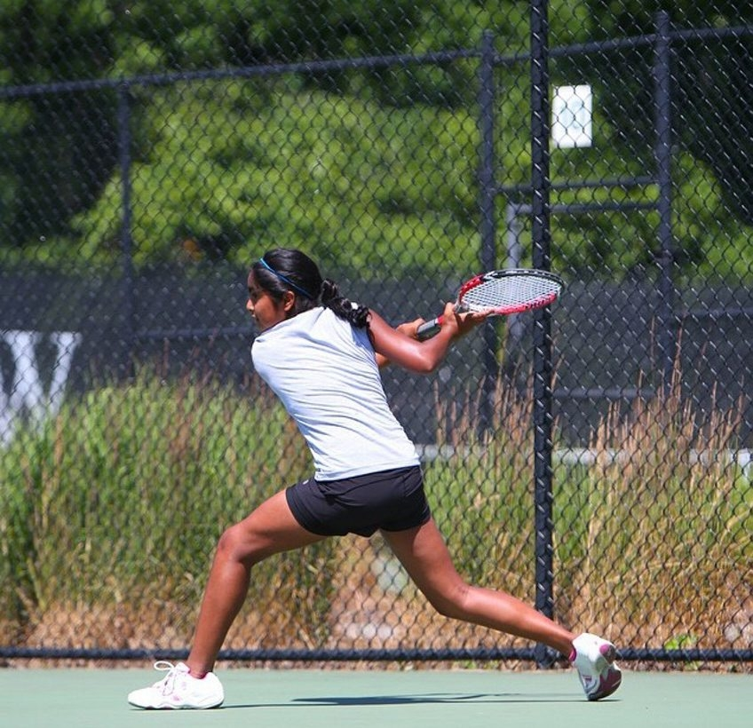 Yashna Yellayi is ranked No. 3 in singles in the Eastern Section of the USTA Tennis Association.