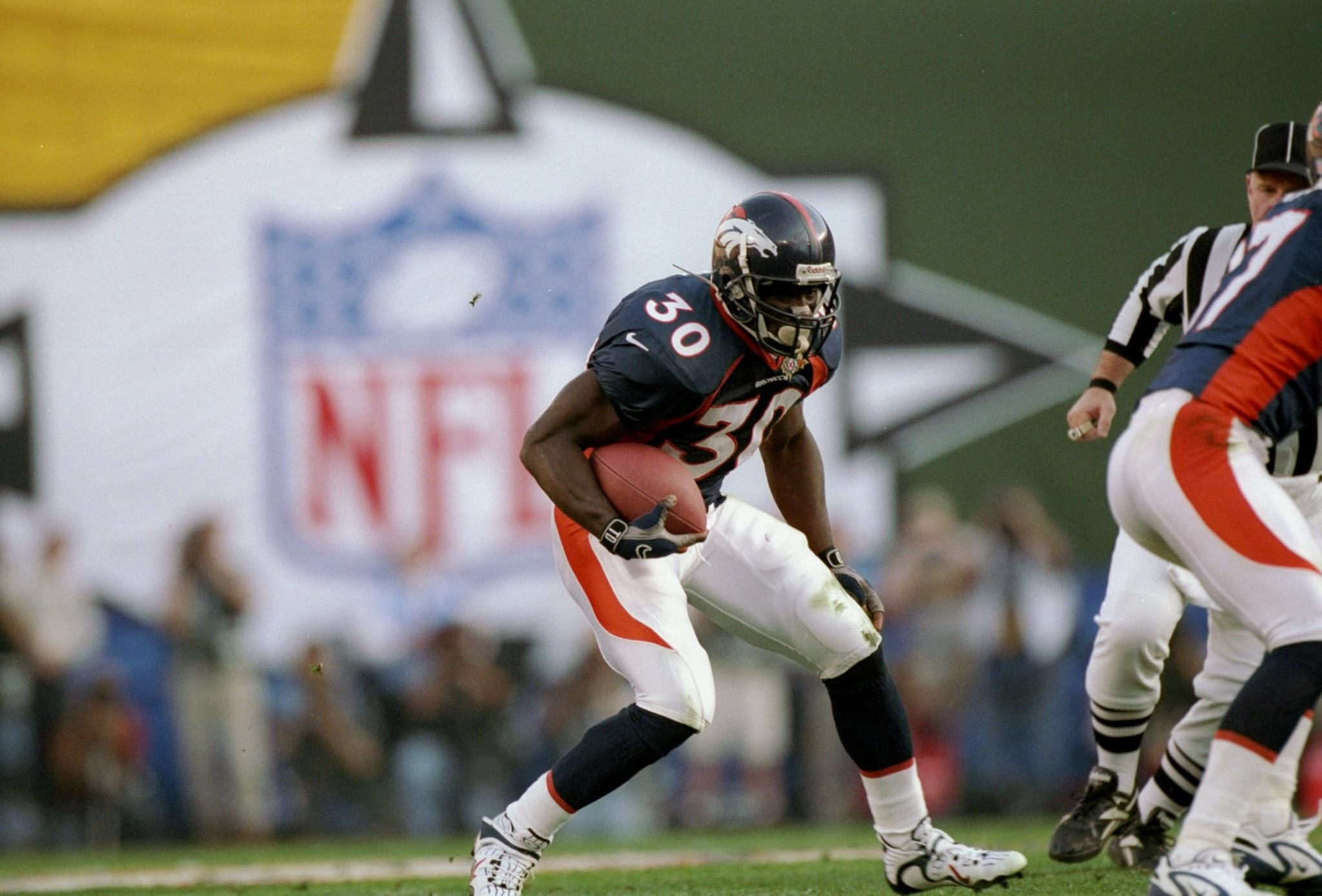 Terrell Davis was the last running back to win the Super Bowl MVP Award.