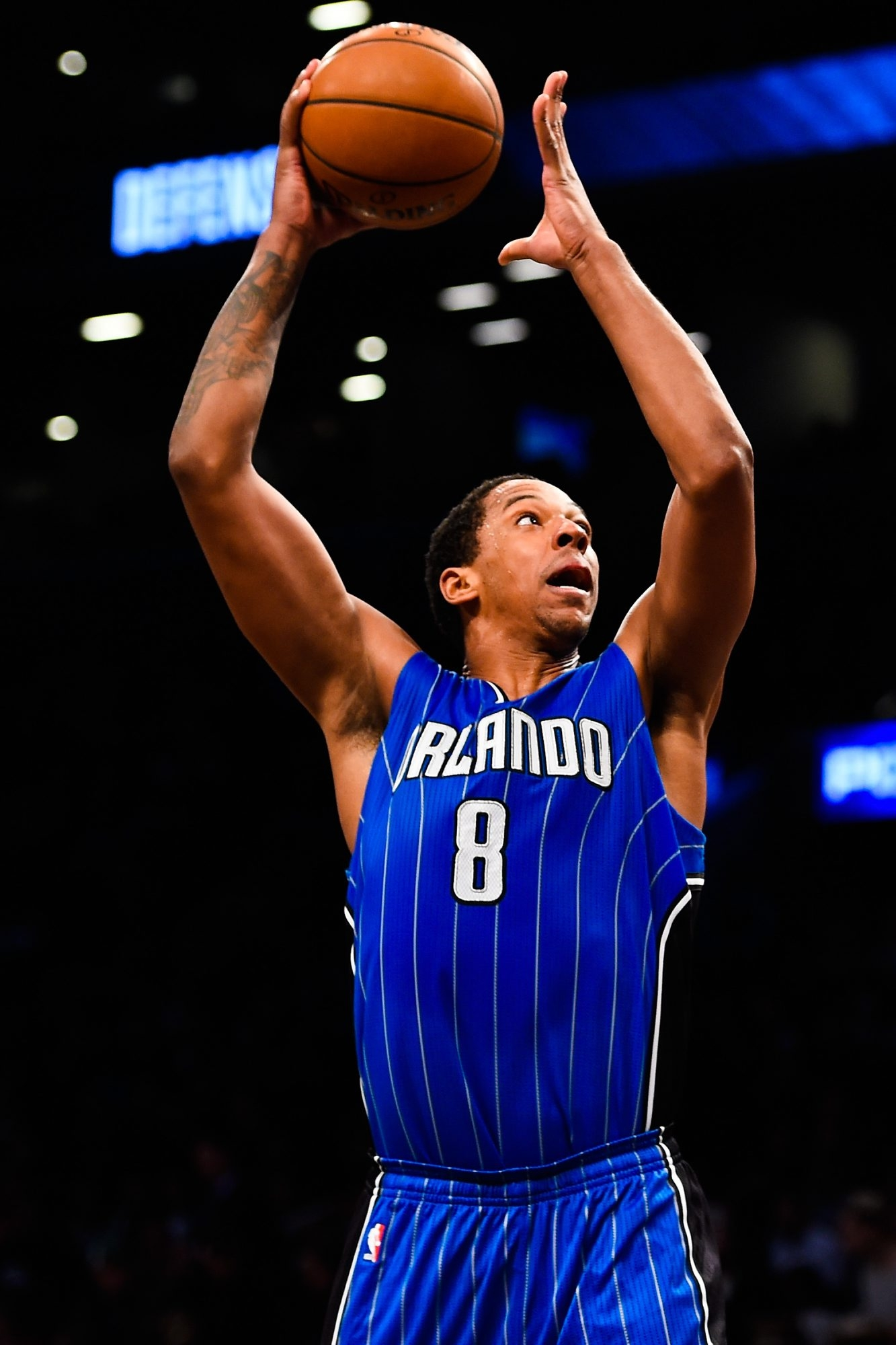 Channing Frye was acquired by the Cleveland Cavaliers in a trade from the Orlando Magic on Thursday.