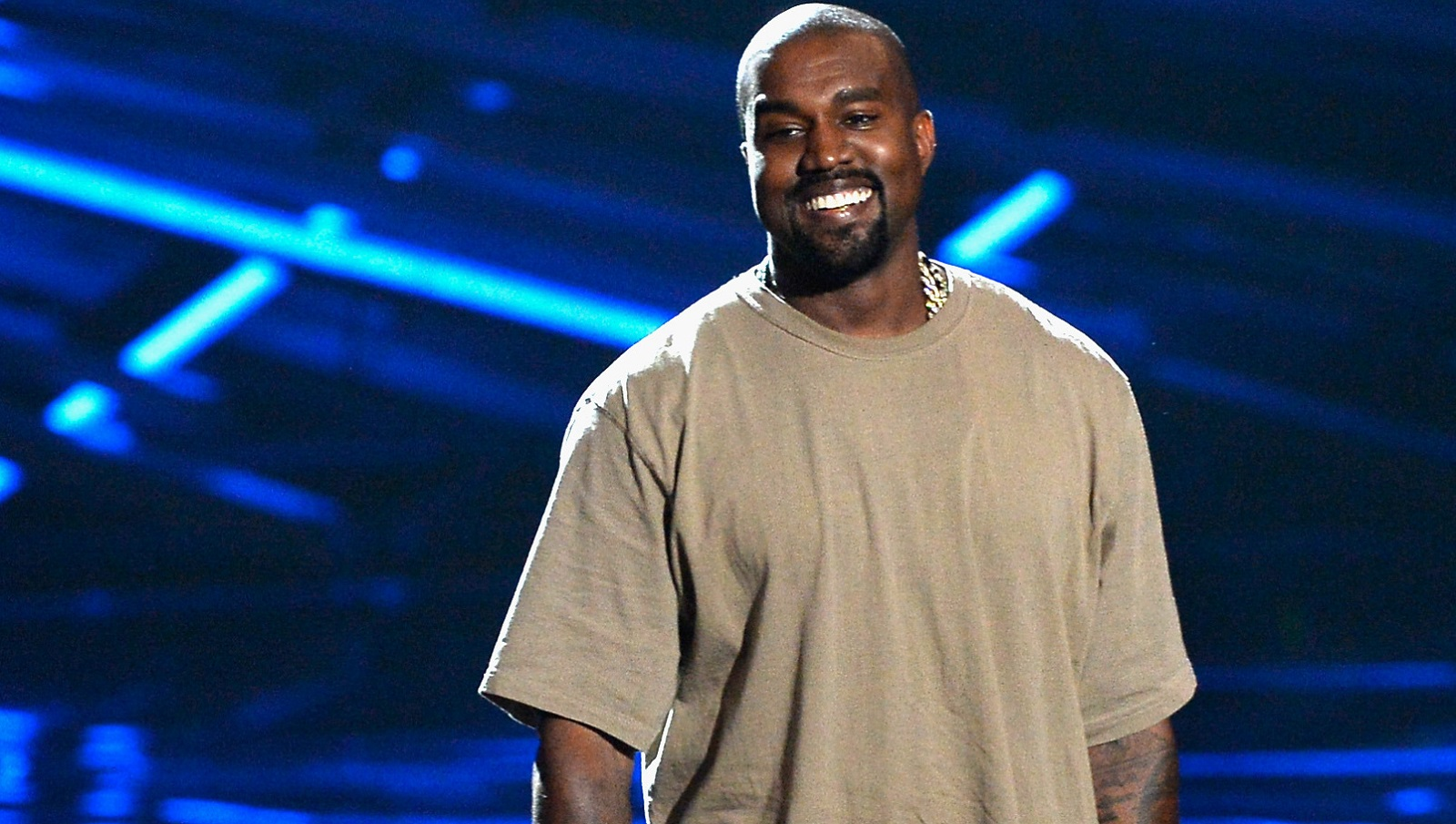 Kanye West comes across as a 'self-obsessed jerk' in 'Pablo,' Jeff Miers writes. (Getty Images)