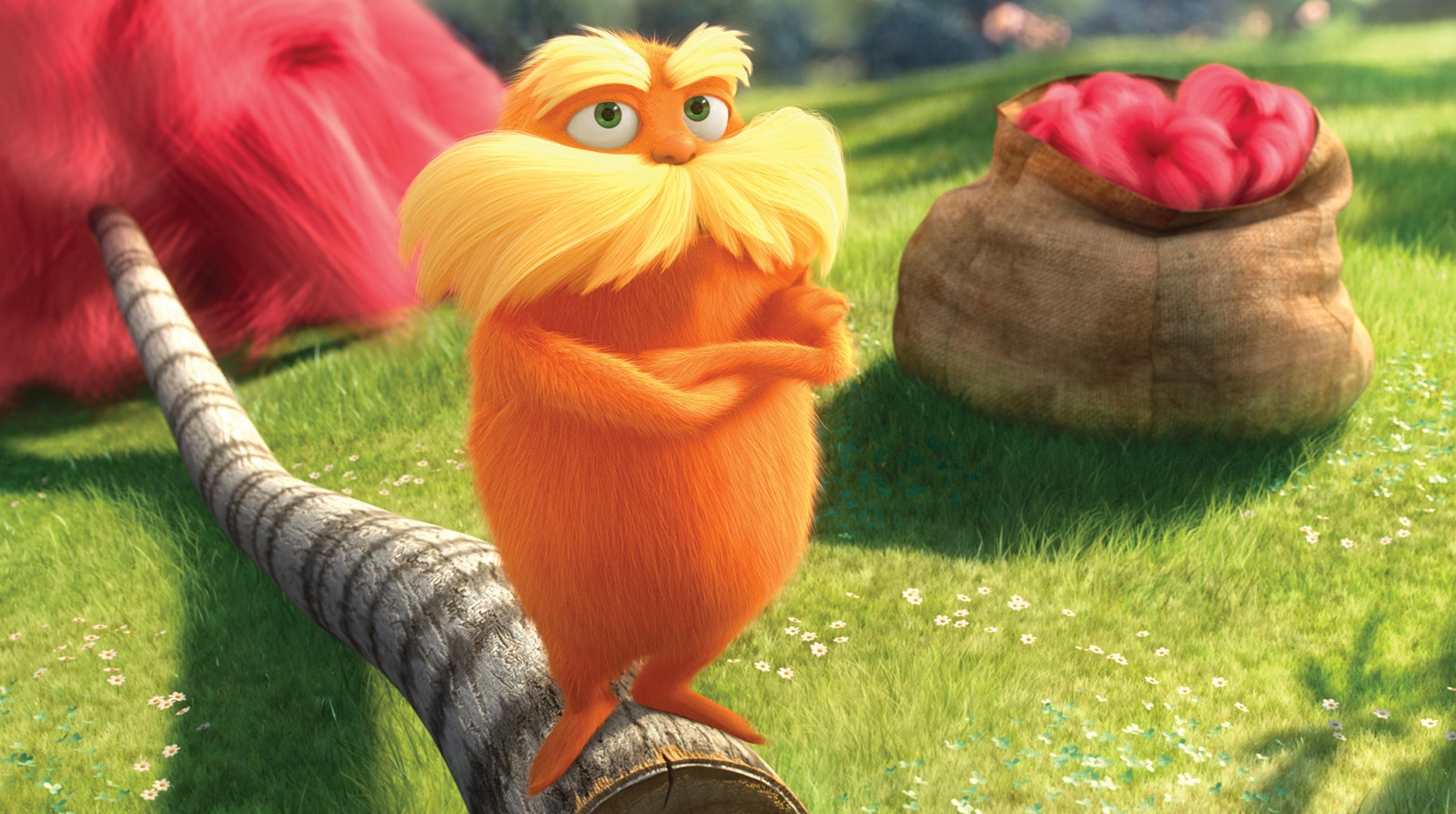 'The Lorax' was a popular movie based off of a Dr. Seuss book from 1971.