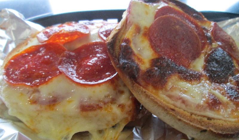 Bagel Jay's Pizza Bagel. (Photo credit Emma Schiedel)