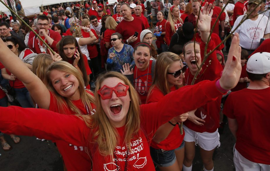 While there are plenty of new things this year for Dyngus Day, one thing will never change: large crowds of people decked out in red carrying pussy willow branches. (Derek Gee/News file photo)