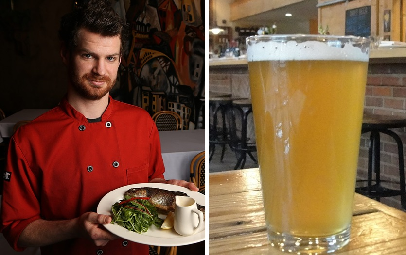 Chef Conor Casey of Coco, left, will collaborate on a Leap Day dinner with local brewery Community Beer Works. (Buffalo News file photos)