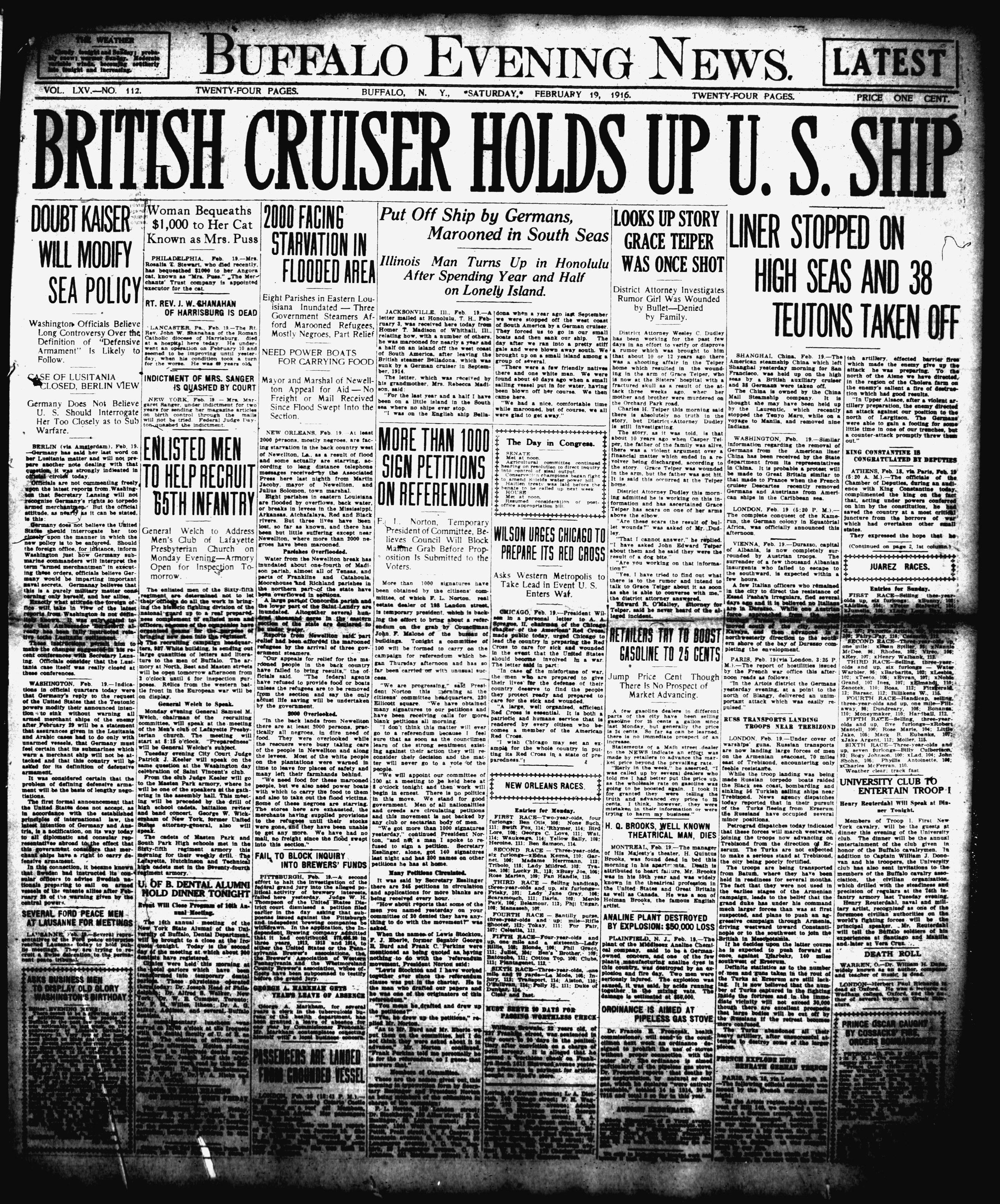 Feb 19 1916