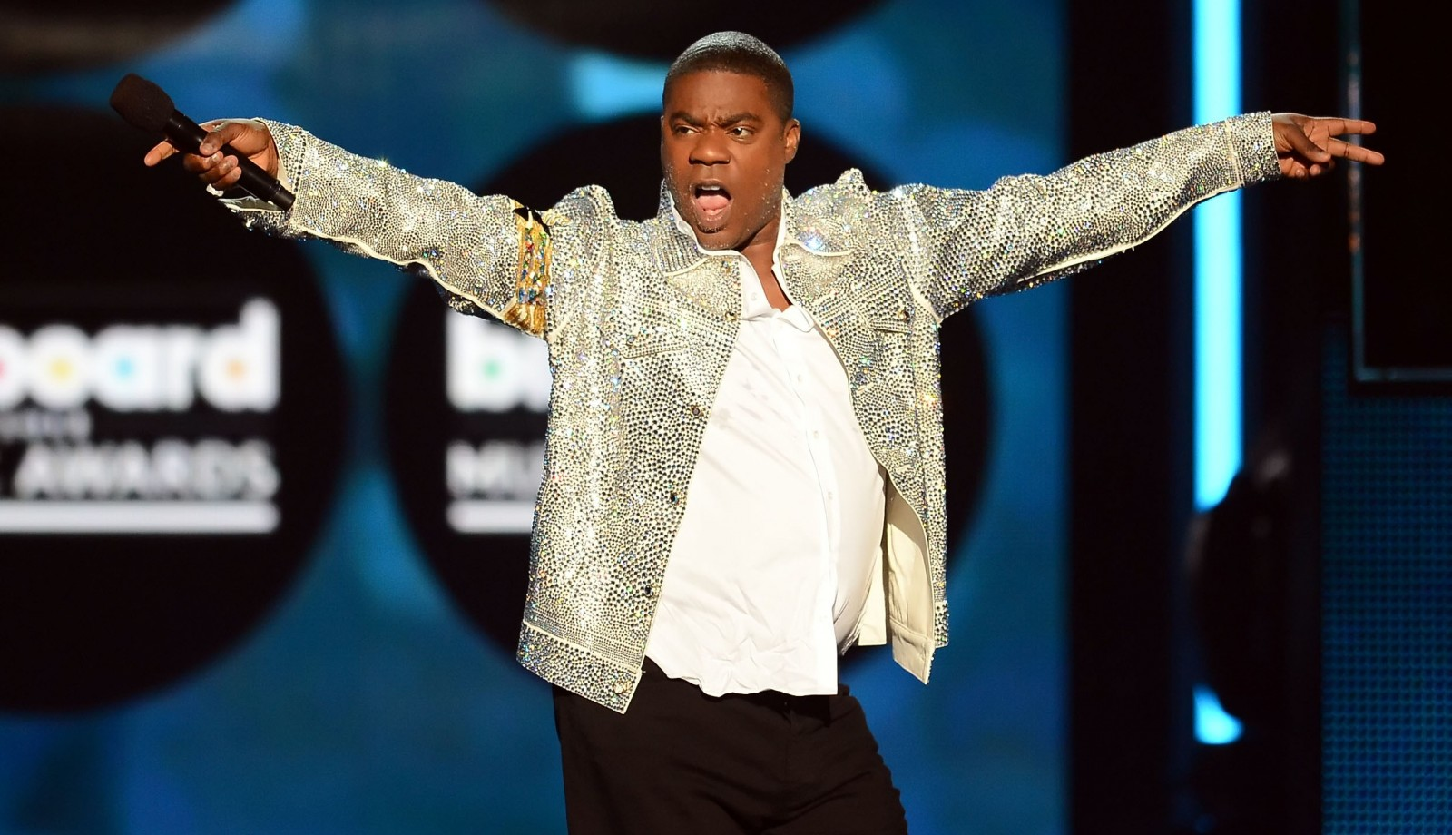 Tracy Morgan performed stand-up in the Seneca Niagara Events Center on Friday night. (Getty Images)