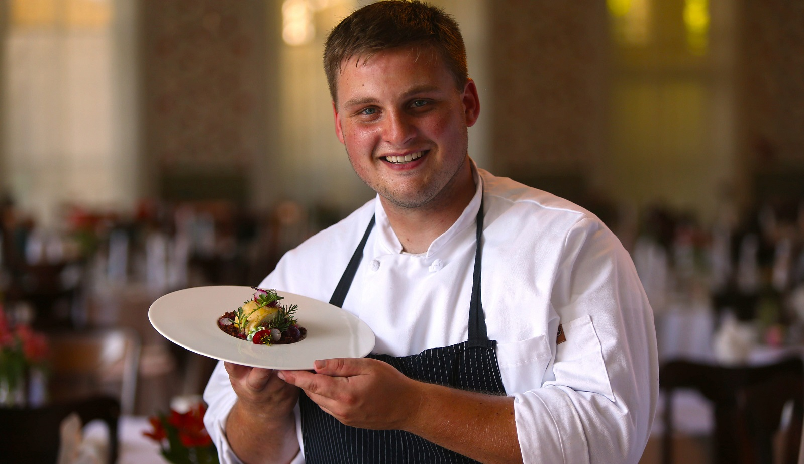 Former Athenaeum Hotel Chef Ross Warhol will revisit Chautauqua again for the week of food events. (Robert Kirkham/Buffalo News file photo)