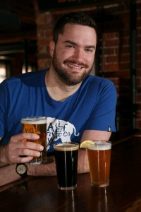 Brewer Chris Herr drinks in moderation guilt-free.