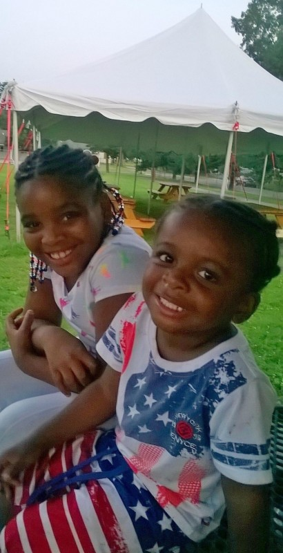 Treasure Brighon, 8, left, and Demetrius Johnson Jr., 3. Treasure suffered burns over 90 percent of her body and is in critical condition in an Ohio hospital; Demetrius is doing well at Women and Children's Hospital in Buffalo