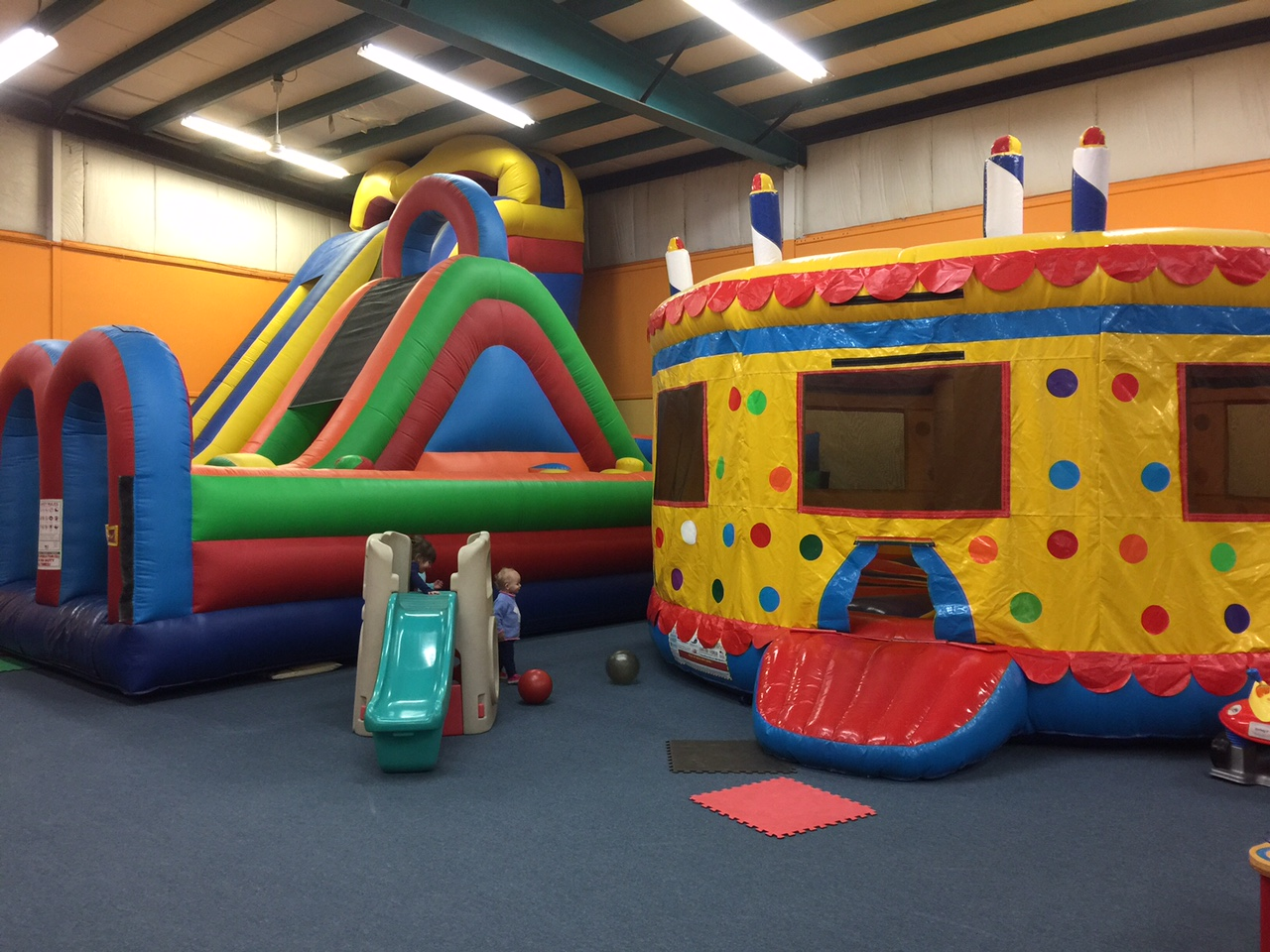 Just big enough for the little ones, Leaps N' Bounce leaves kids jumping for joy Mary Friona-Celani/Special to The News
