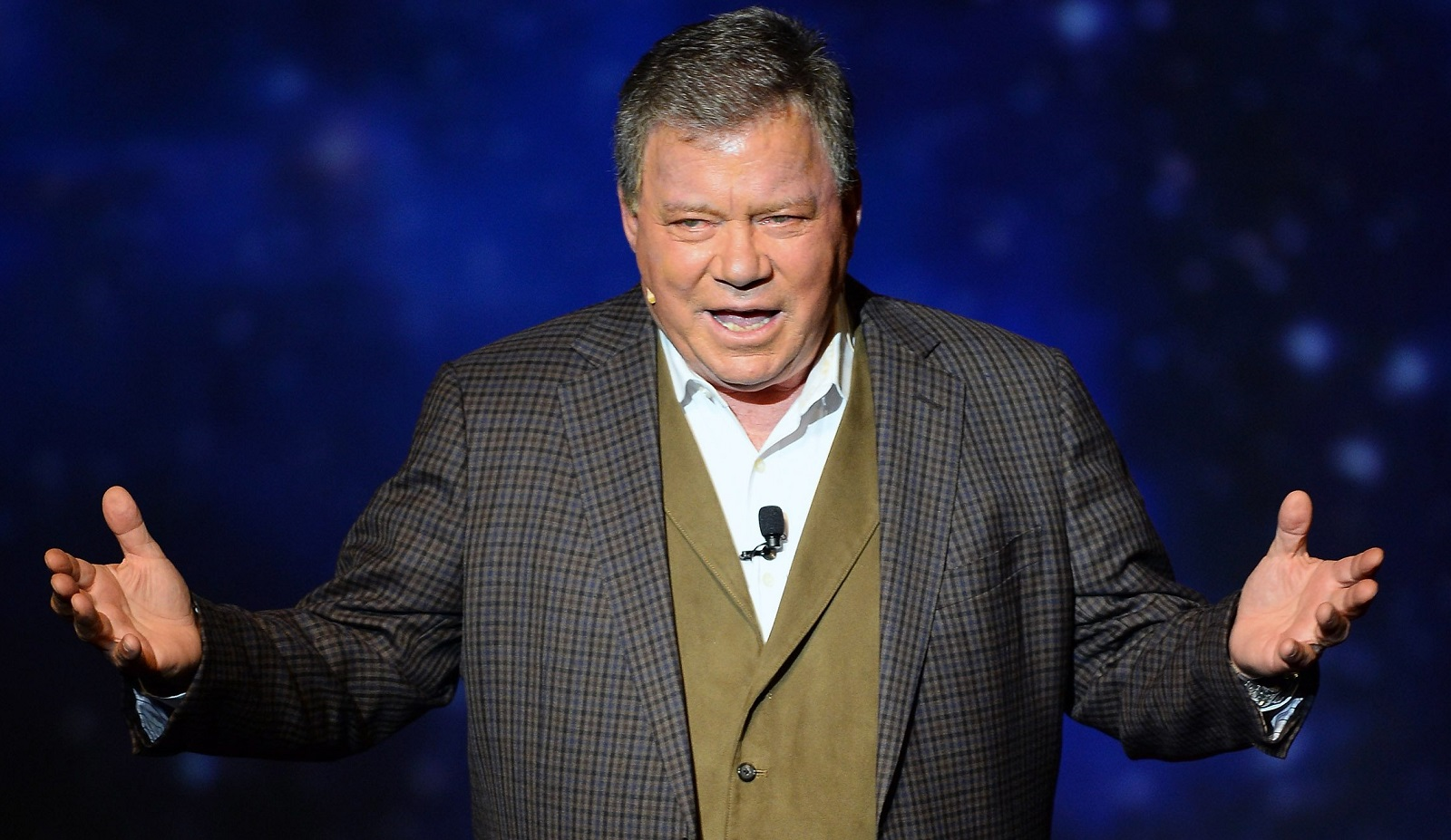 William Shatner will appear at Nickel City Con on May 20. (Getty Images)