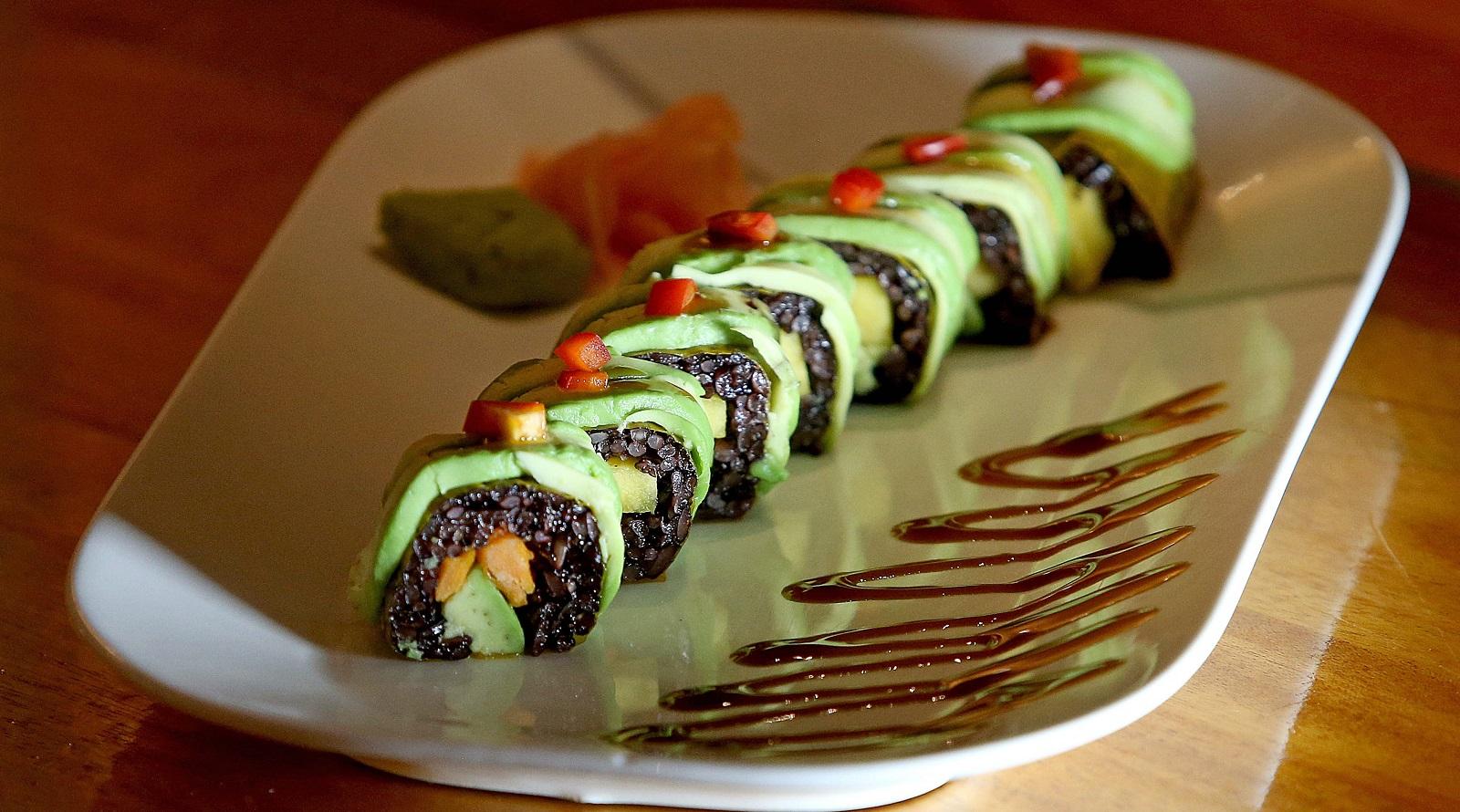Sun Restaurant's black rice rolls will be available at Sun Roll in EXPO. (Robert Kirkham/Buffalo News file photo)