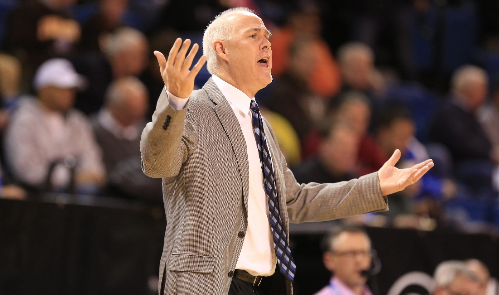St. Bonaventure coach Mark Schmidt was surprised that his men's basketball team was not selected to the NCAA Tournament field. (Harry Scull Jr./Buffalo News file photo)