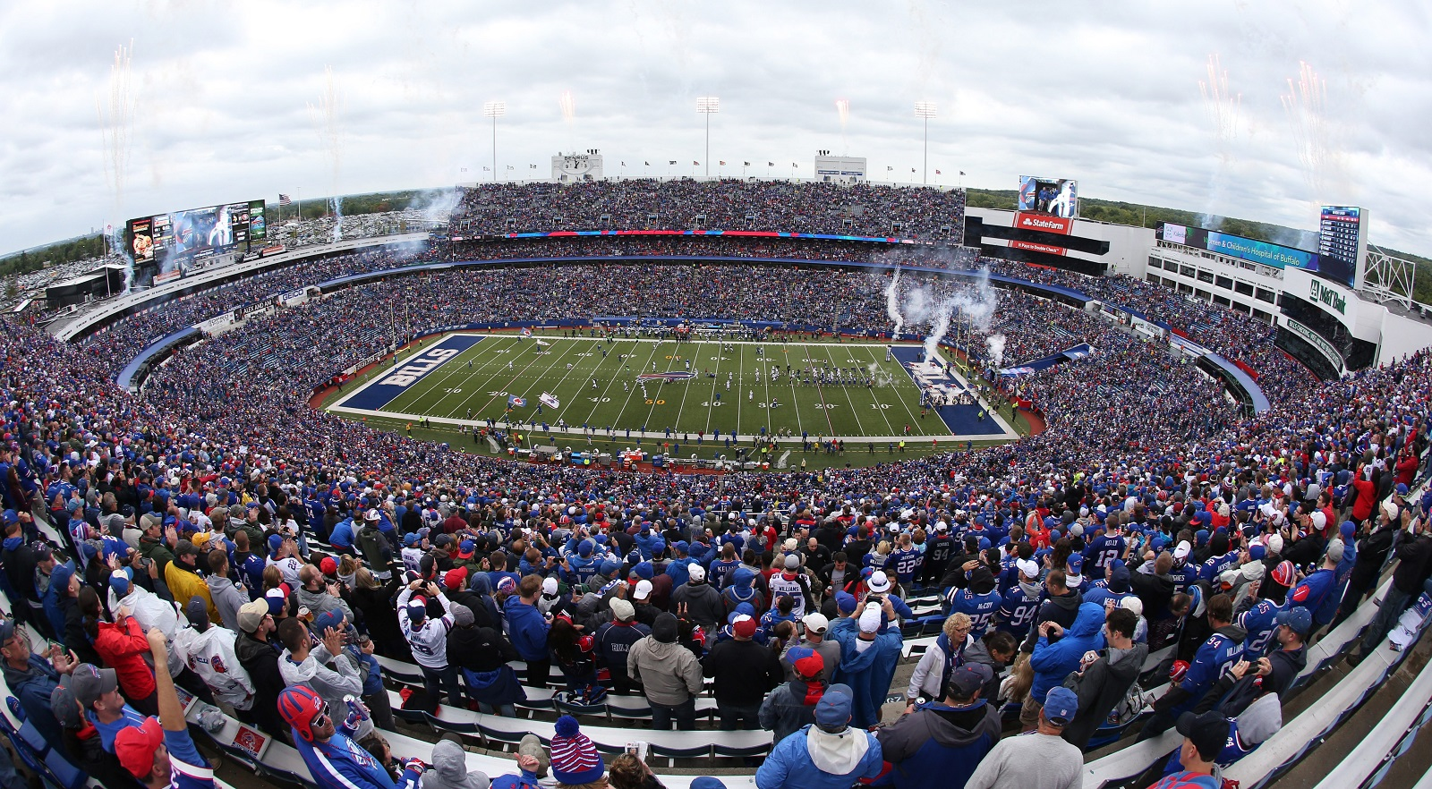 There's some debate over how the Bills should handle the future of Ralph Wilson Stadium.(James P. McCoy/ Buffalo News file photo)