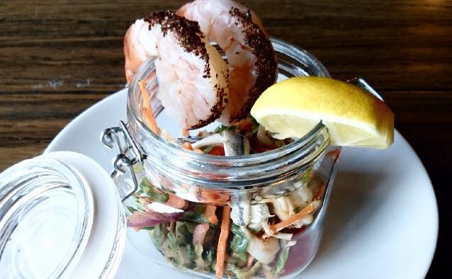 A seafood salad from The Mahony. (via The Mahony's Facebook page)