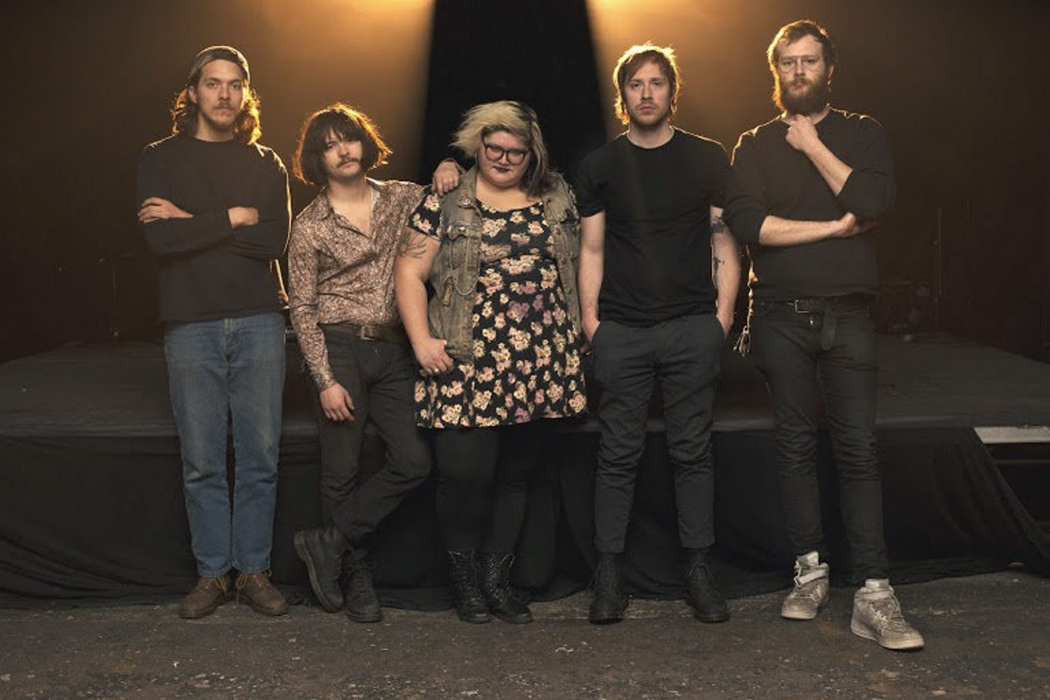 The Philadelphia punk outfit Sheer Mag plays April 3 in Mohawk Place.