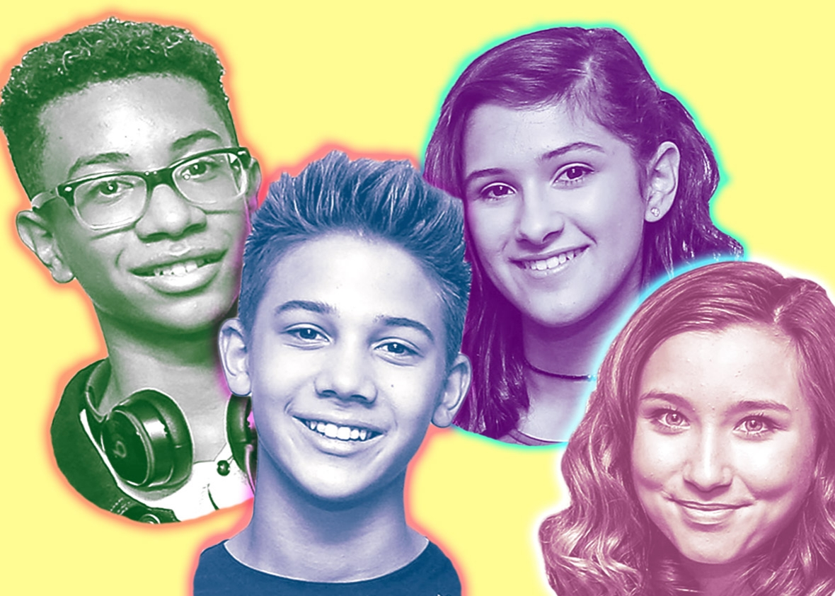 Kidz Bop kids Matt, Grant, Bredia and Ashlynn will perform at Darien Lake this summer.
