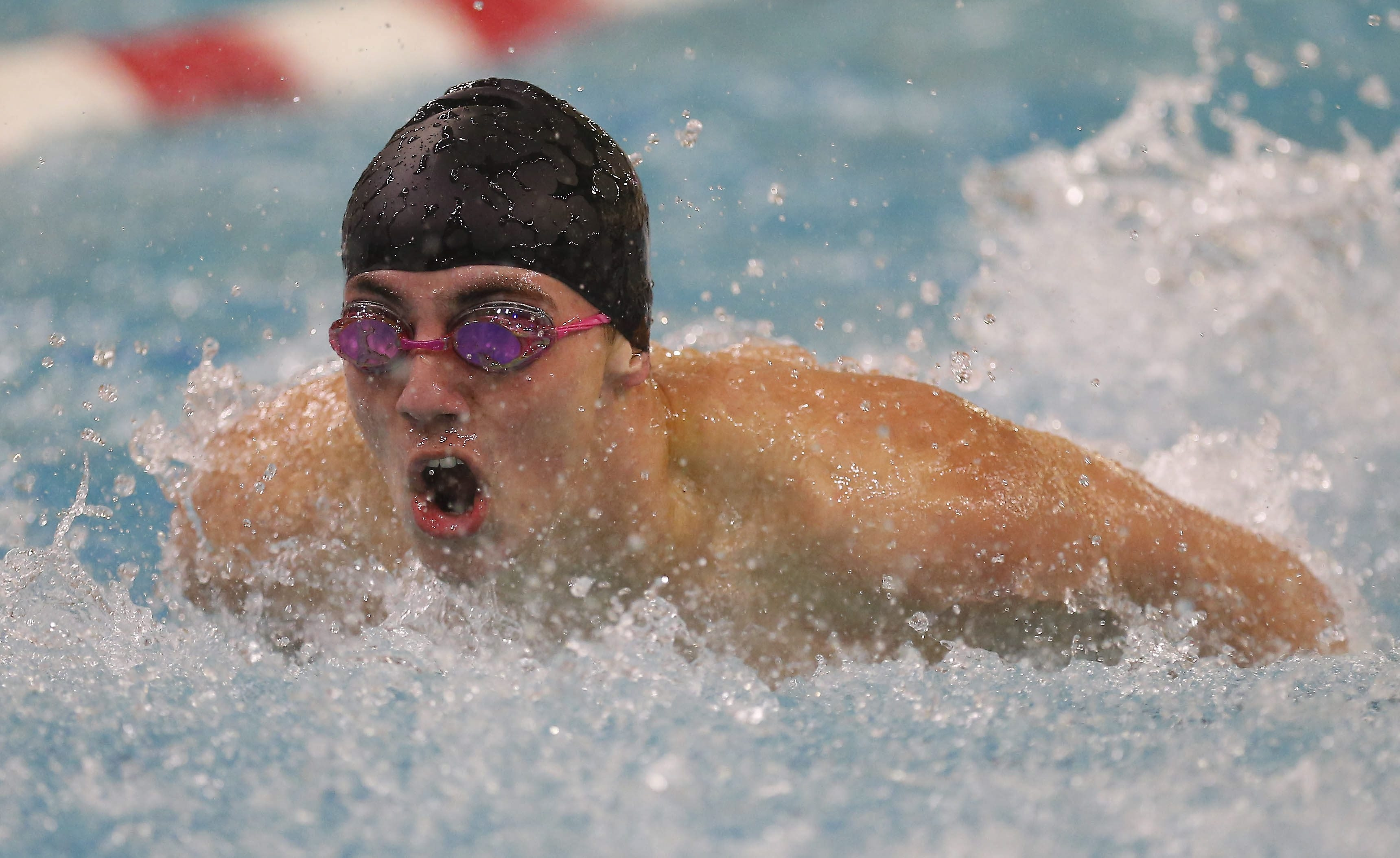 Olean's Seth Farrand will test his skill against the state's best swimmers this week at the Flickinger Center.