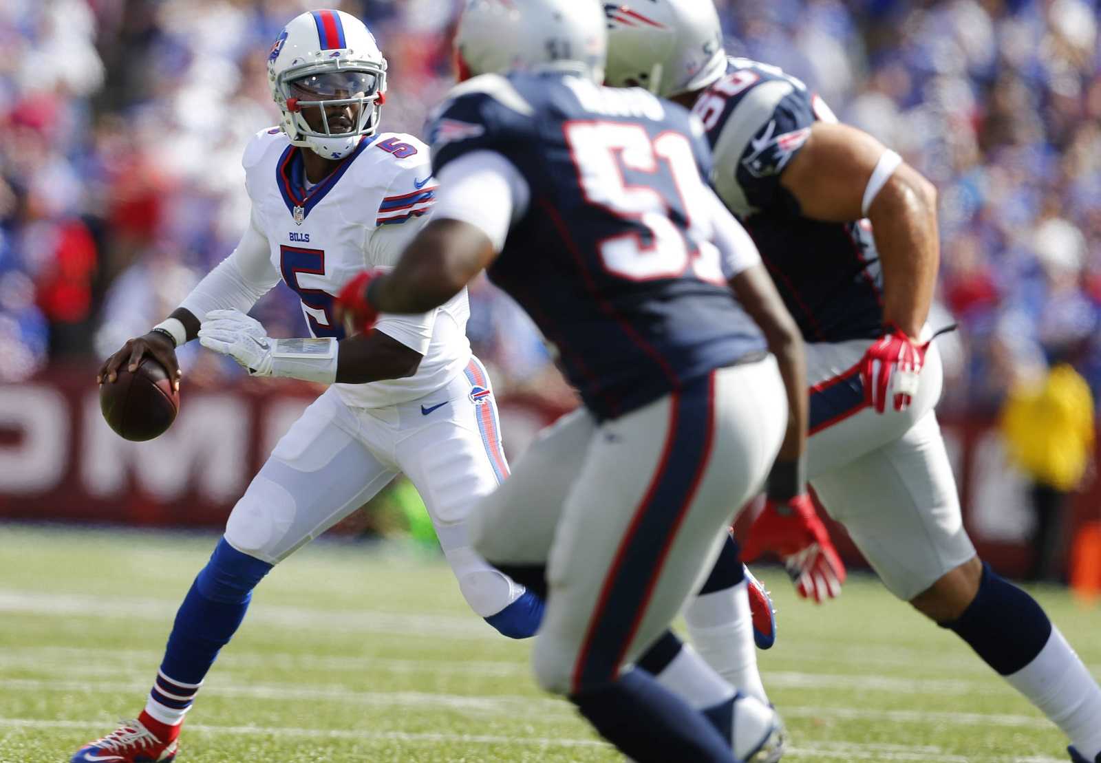 Tyrod Taylor should be in a position Sunday to answer questions about whether he truly is a franchise quarterback. (Mark Mulville/Buffalo News file photo)