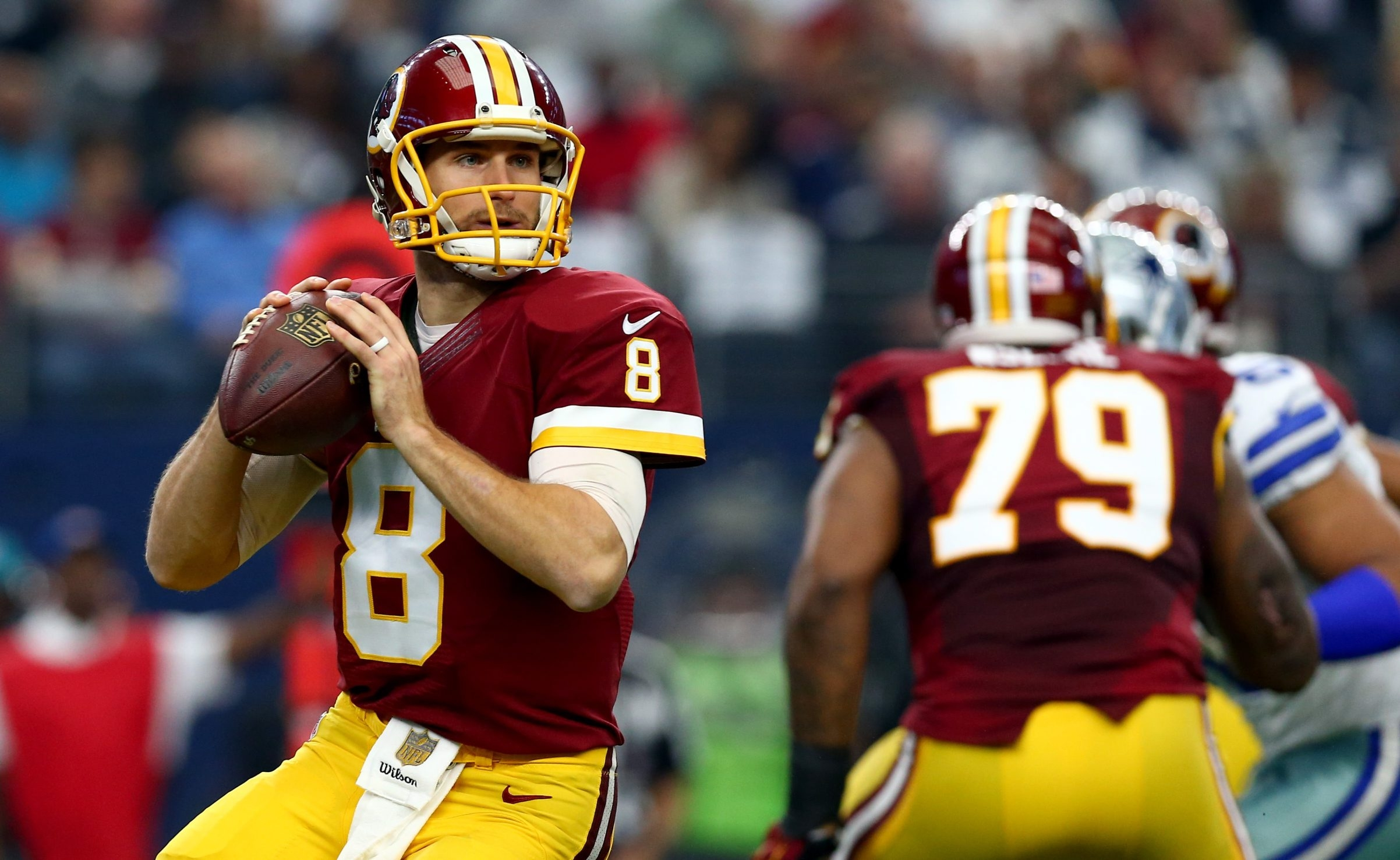 The Redskins used their franchise tag on quarterback Kirk Cousins, who gets a once-year contract that guarantees him $19.95 million.