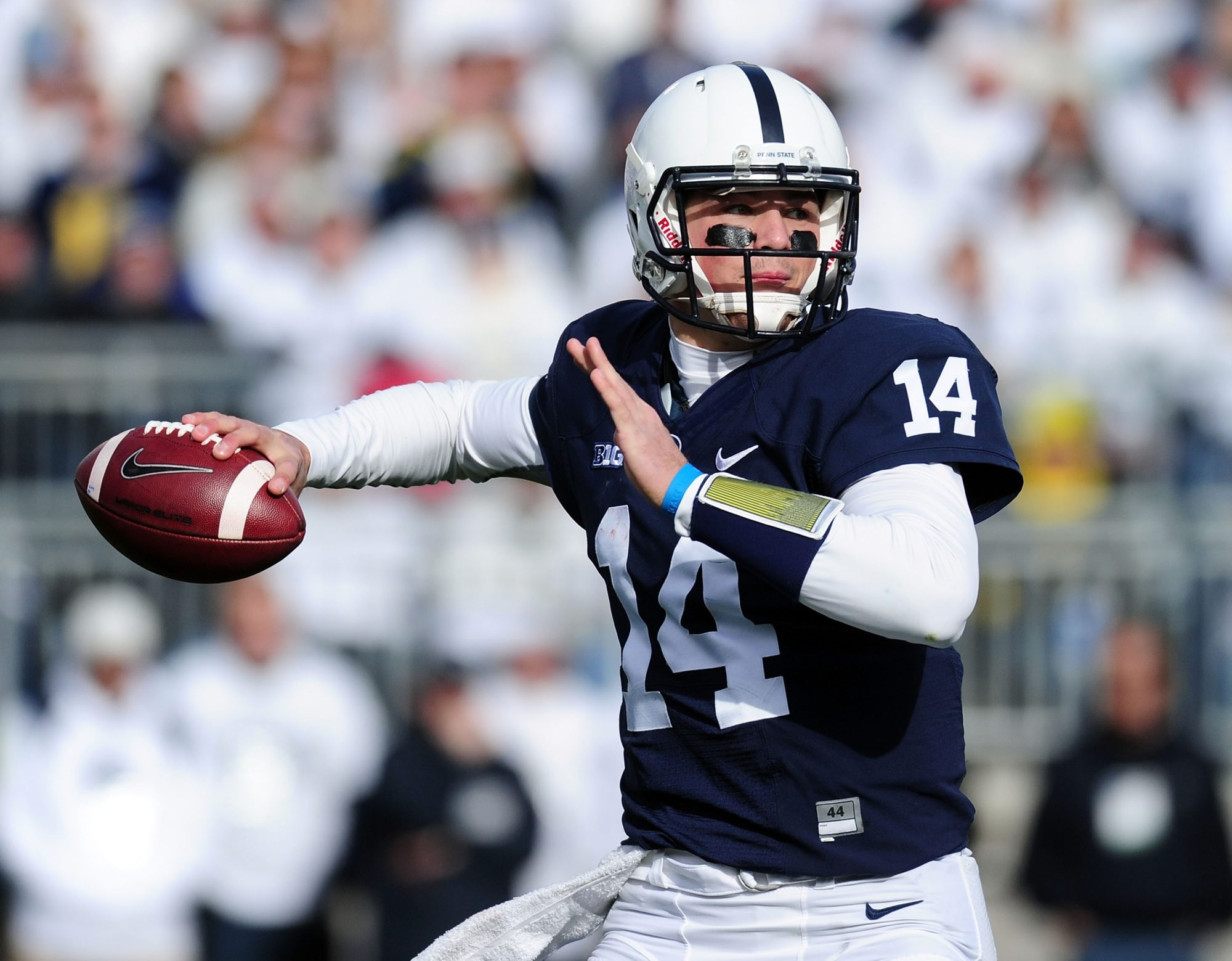 After a strong freshman season, Christian Hackenberg mostly regressed as a quarterback at Penn State the next two seasons.