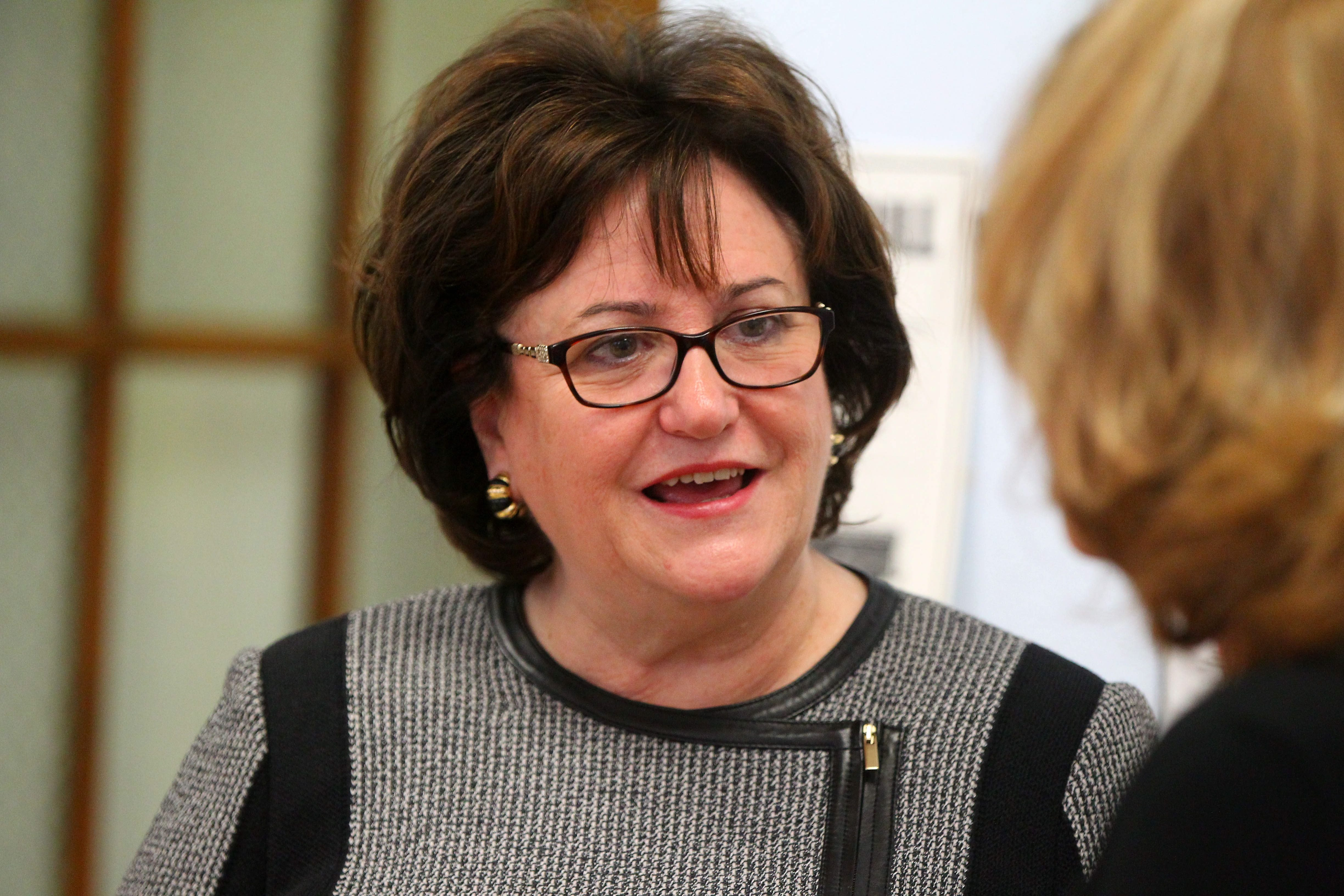MaryEllen Elia, on day two of tour, visits pair of schools in Buffalo.