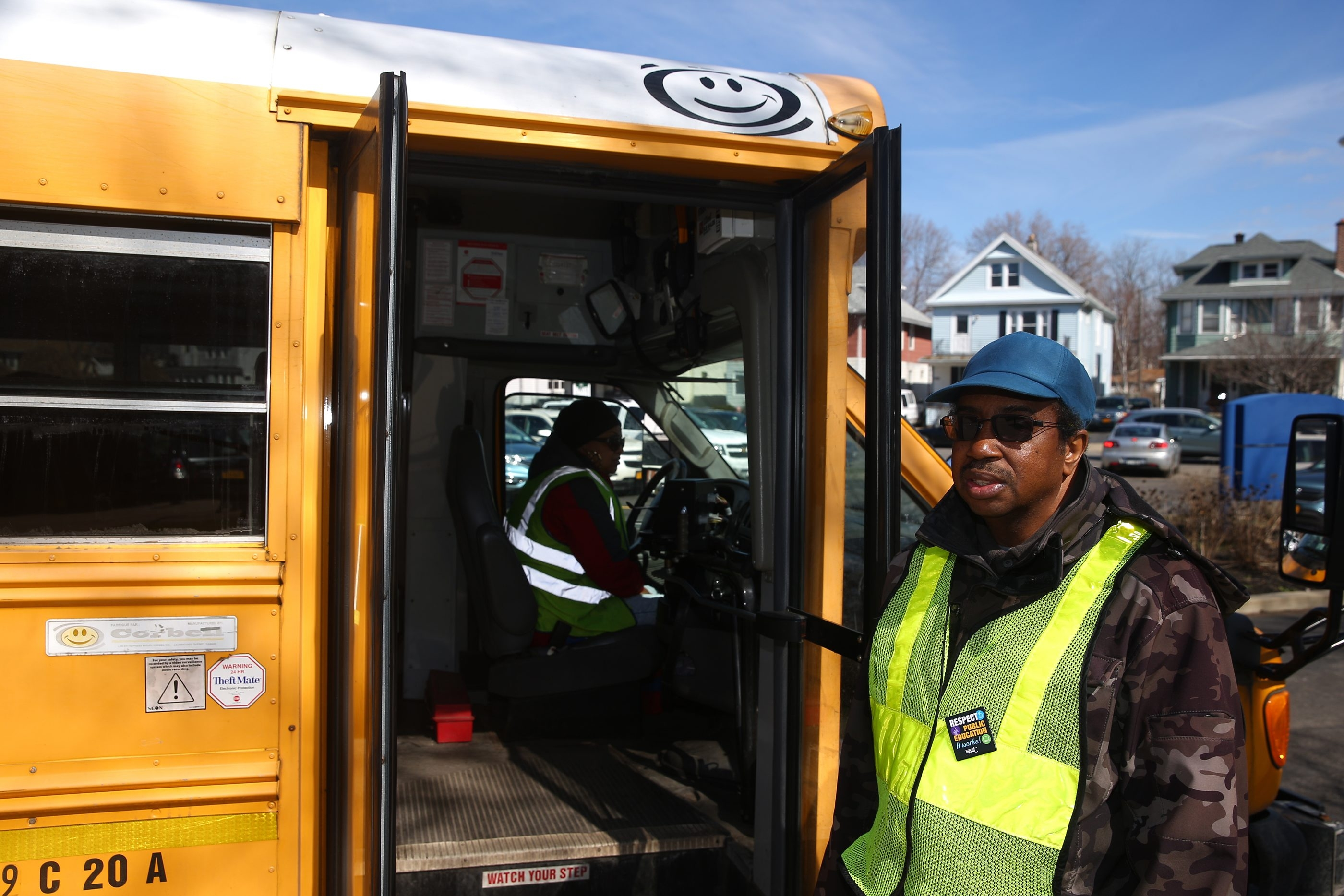 """Some people don't have the capacity and the spirit to deal with kids,"" says Freddie Smith, one of 400 aides for the 667 buses used by the Buffalo Public Schools. ""A lot of them stay two days and they're gone – they never come back."""