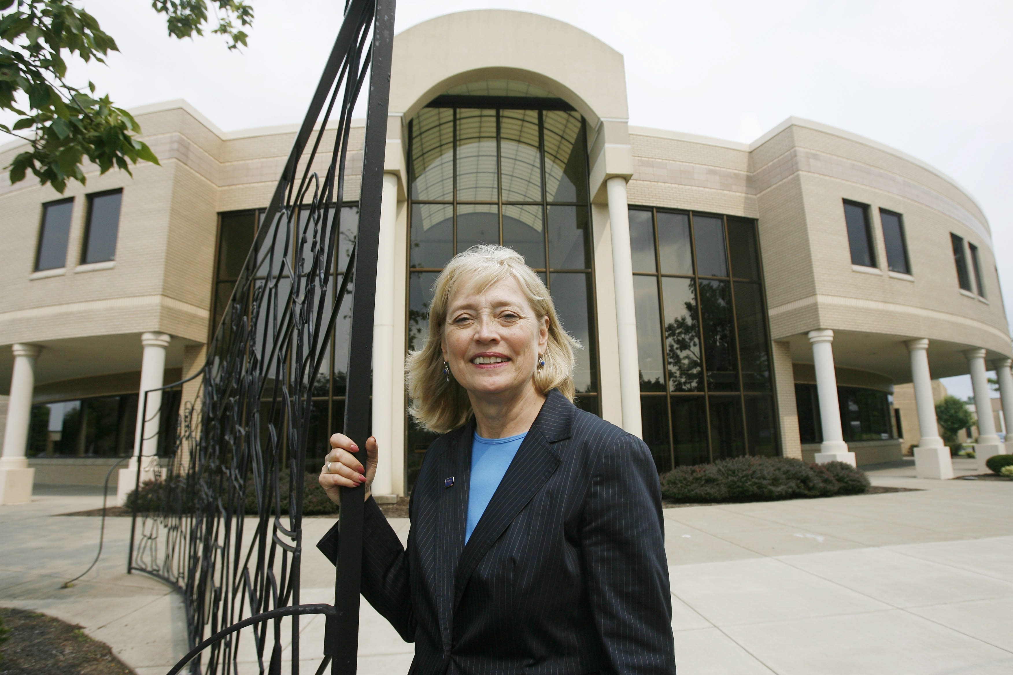 President Cynthia Zane is tasked with shoring up Hilbert College's finances.