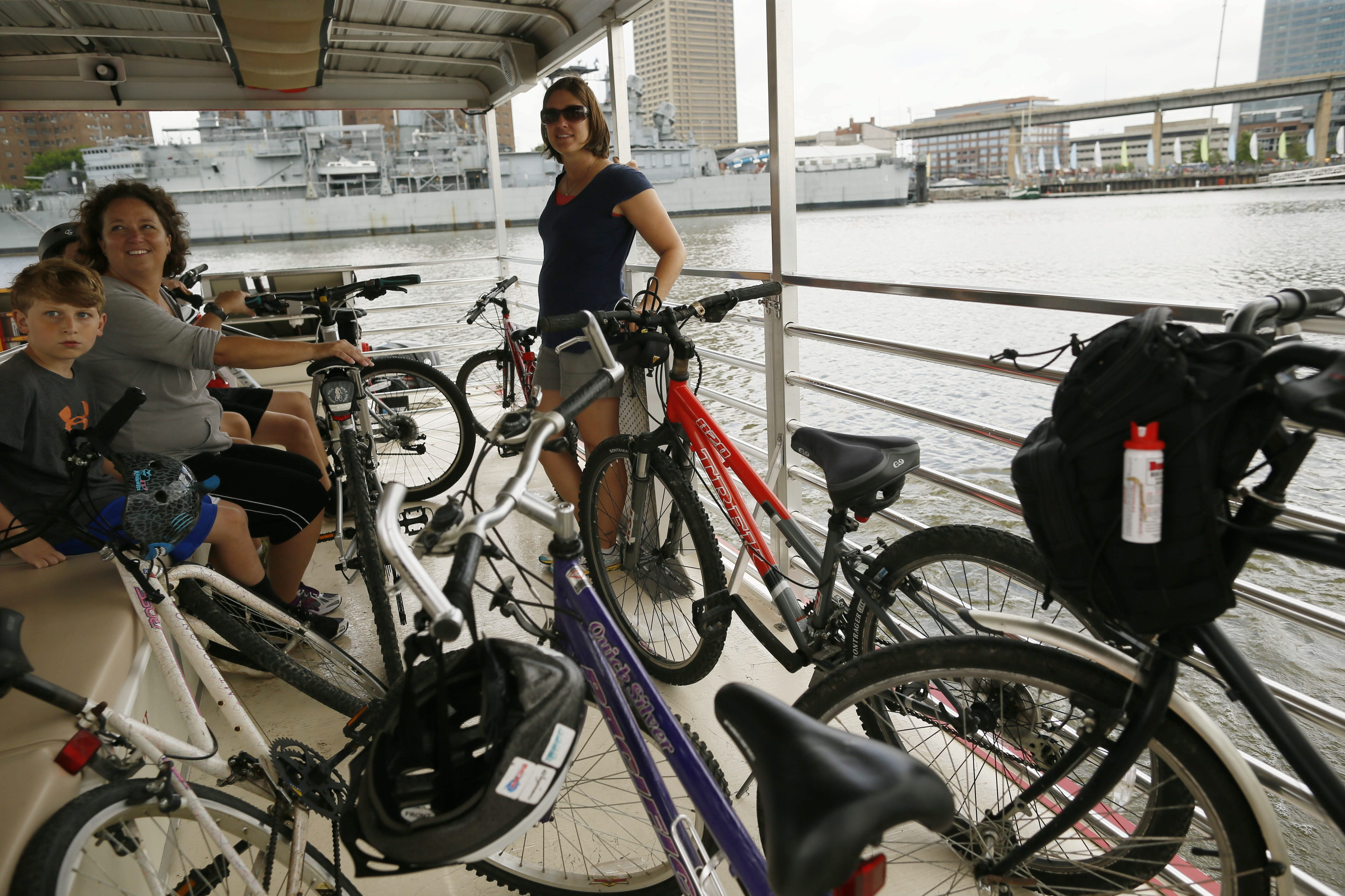 Use of the Queen City Bike Ferry, inaugurated last year, far exceeded expectations. The Erie Harbor Development Corp. needs to expand the service to meet the demand and avoid the risk of driving people away from Canalside.