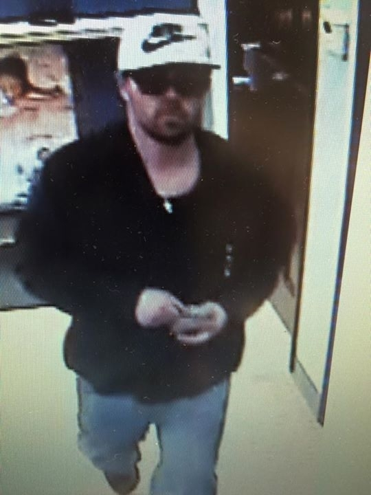 Authorities say this is the suspect in a credit union robbery in Middleport. (Niagara County Sheriff's Office)