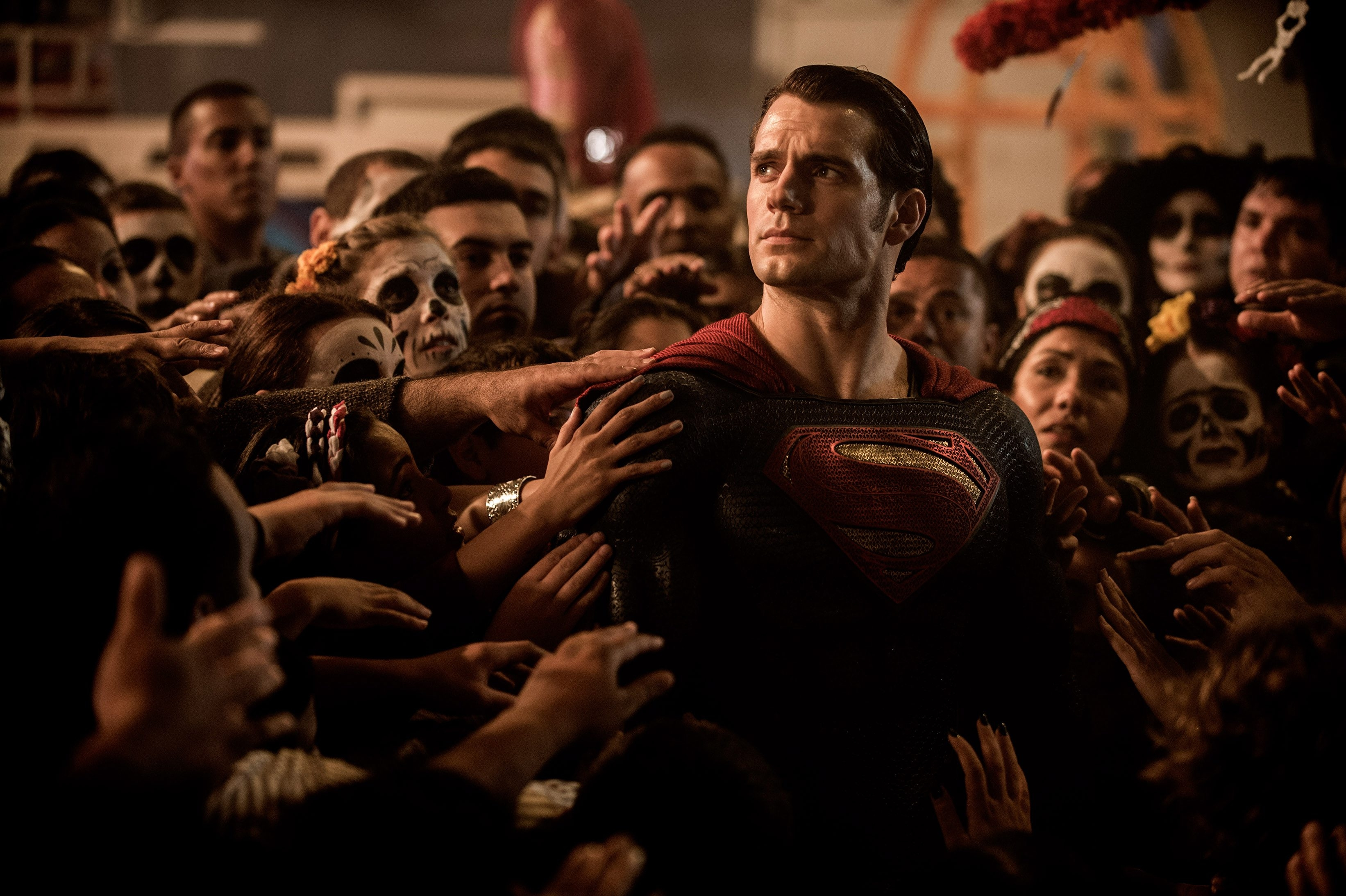 "Henry Cavill stars as the Man of Steel in ""Batman V Superman: Dawn of Justice."""