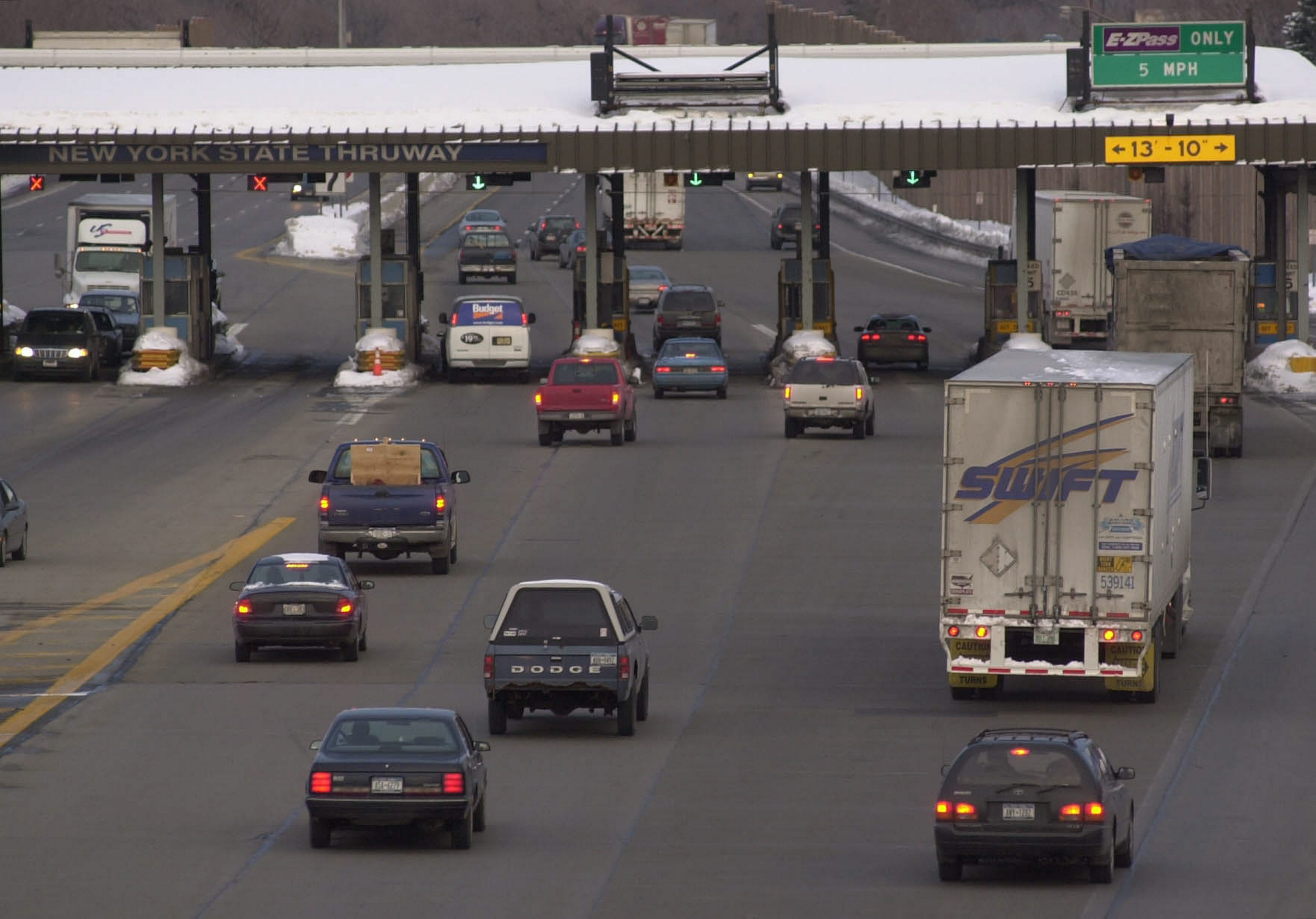 Gov. Andrew Cuomo's proposal would have frozen Thruway tolls until at least 2020. (Derek Gee/Buffalo News file photo)