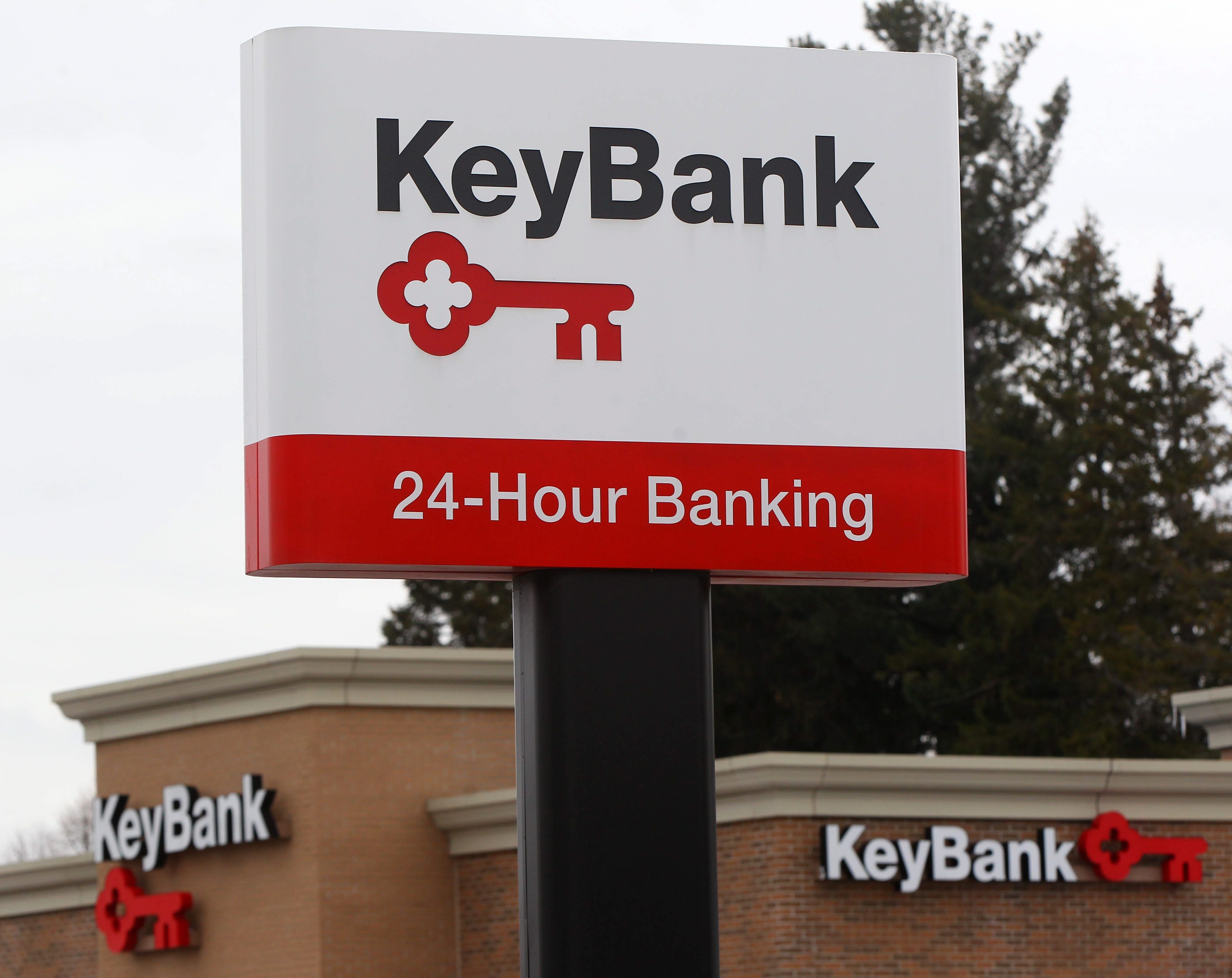 A KeyBank branch will be opened on the East Side of Buffalo, according to a summary of a community benefits agreement revealed on Friday. (Mark Mulville/Buffalo News file photo)
