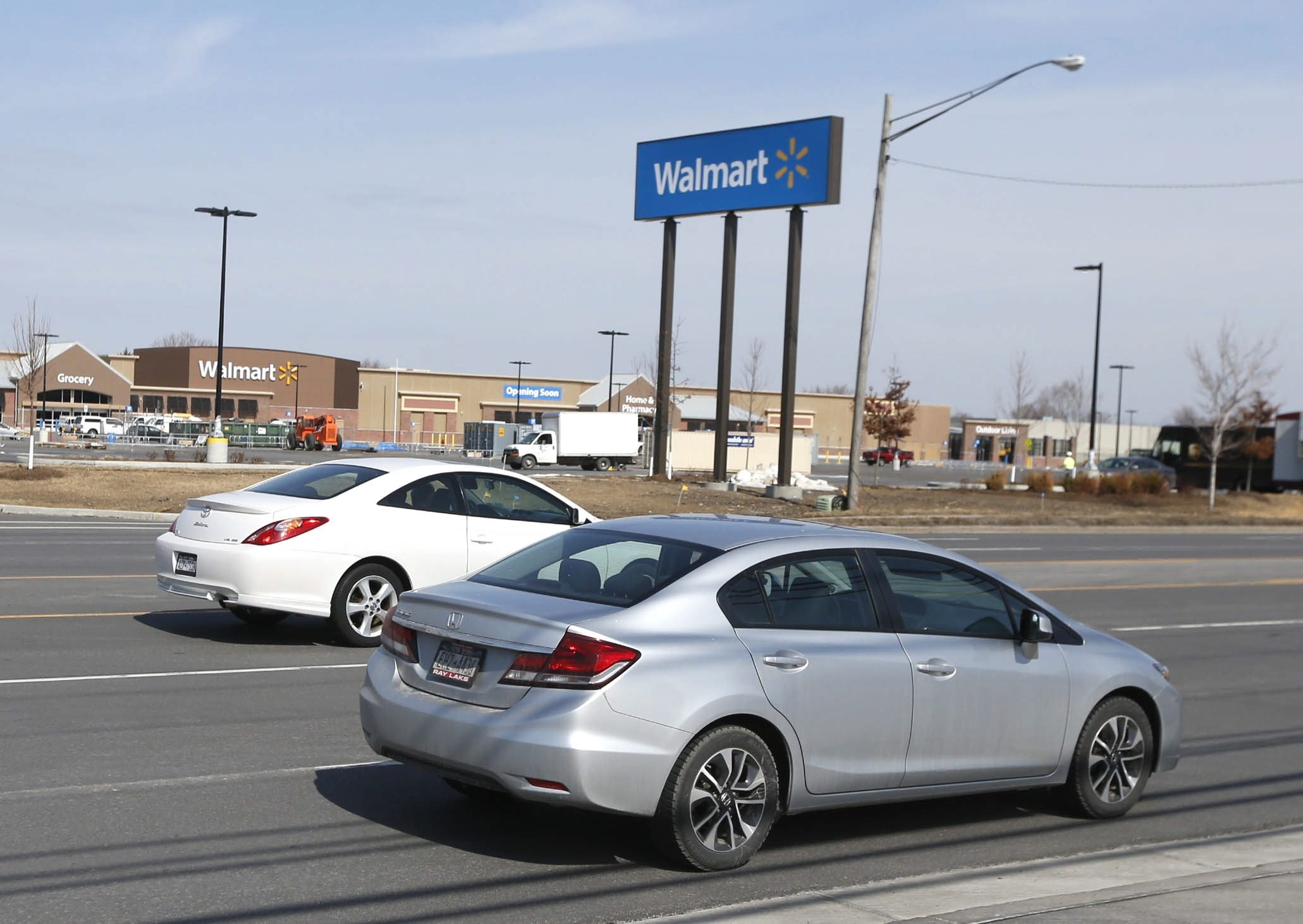 Metro Buses will not have direct access to the new Walmart on Walden in Cheektowaga. (Robert Kirkham/Buffalo News)