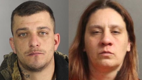 Gerald Kwasniewski and Rebecca Smith were charged with trying to smuggle Suboxone into the Erie County Holding Center through the mail.  (Erie County Sheriff's Office)