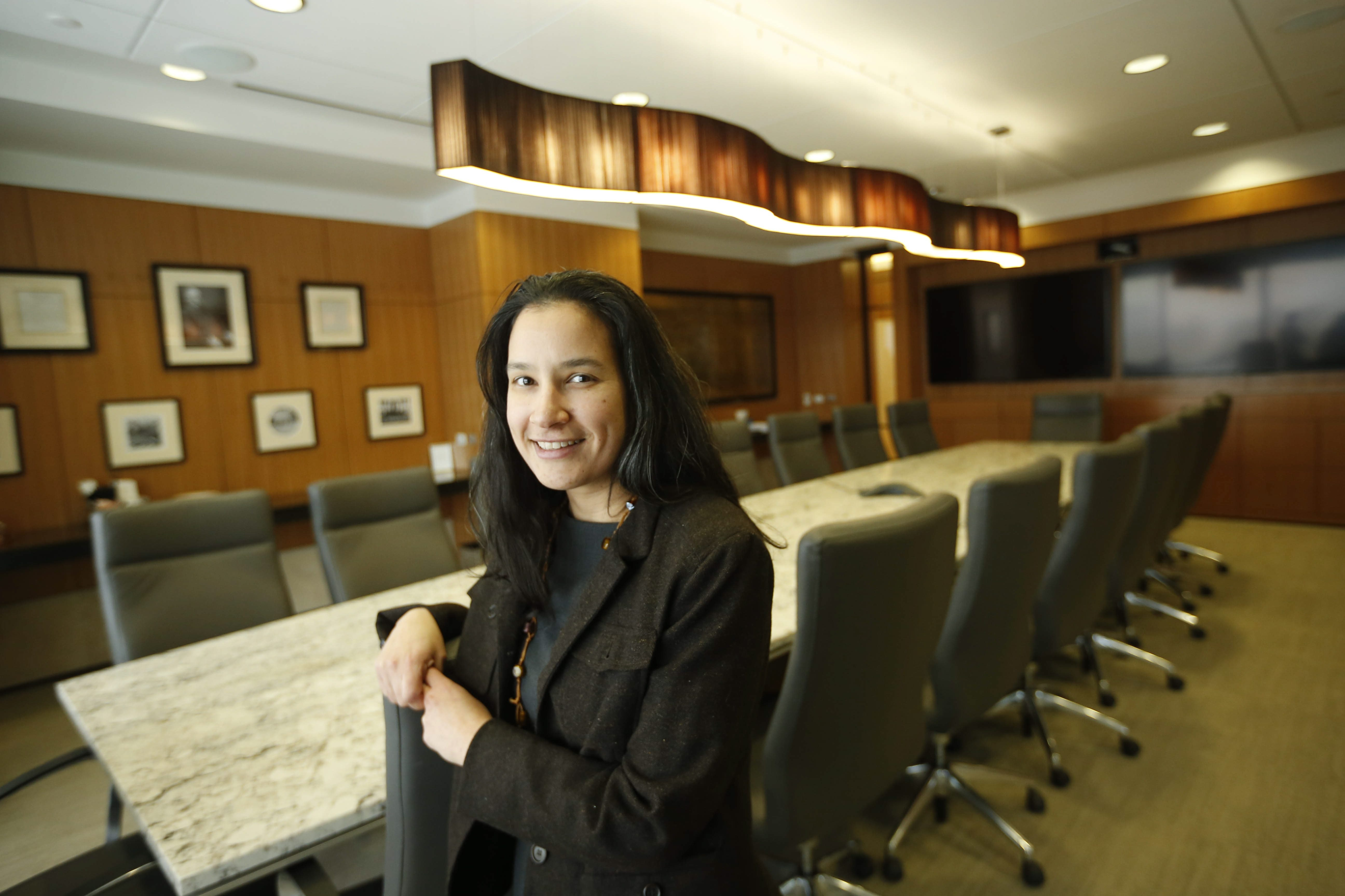 """""""There's definitely a vital business community here in Buffalo that serves not just this region, but outside of the region, too."""" – Rosa Pizzi, associate at Phillips Lytle"""