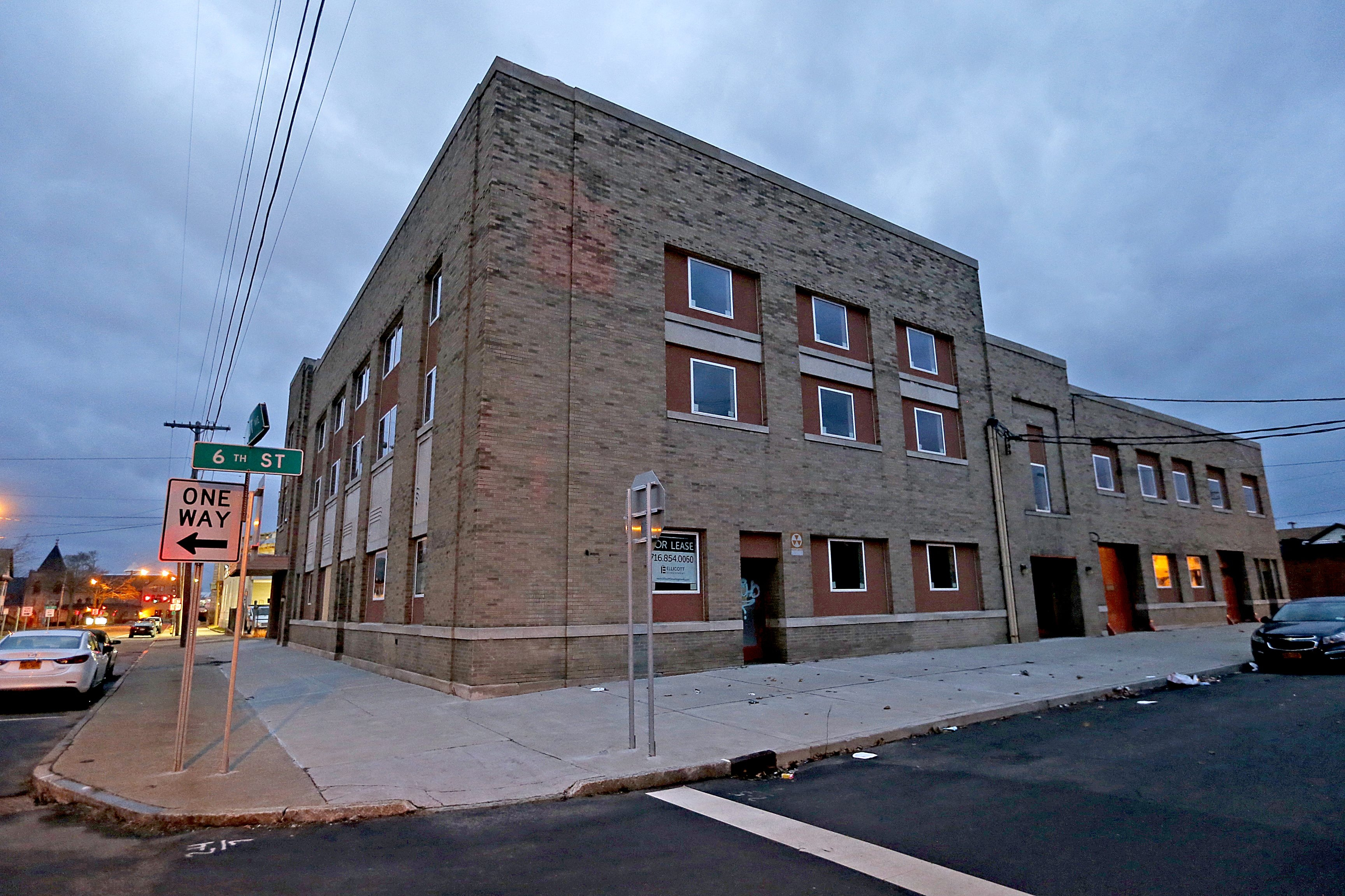 Residents and officials object to the planned expansion of the methadone clinic at 606 Sixth St. in Niagara Falls. (Robert Kirkham/Buffalo News)