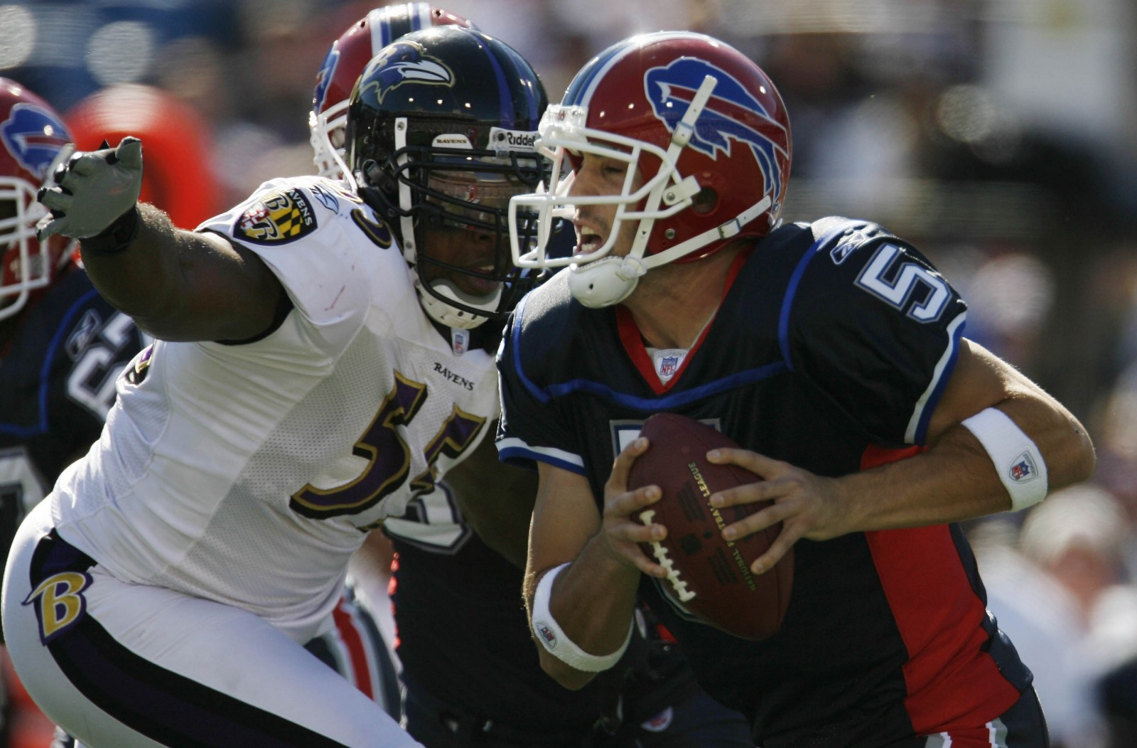 Trent Edwards was the Bills' starting quarterback the last time they played on Monday Night Football. (Buffalo News file photo)