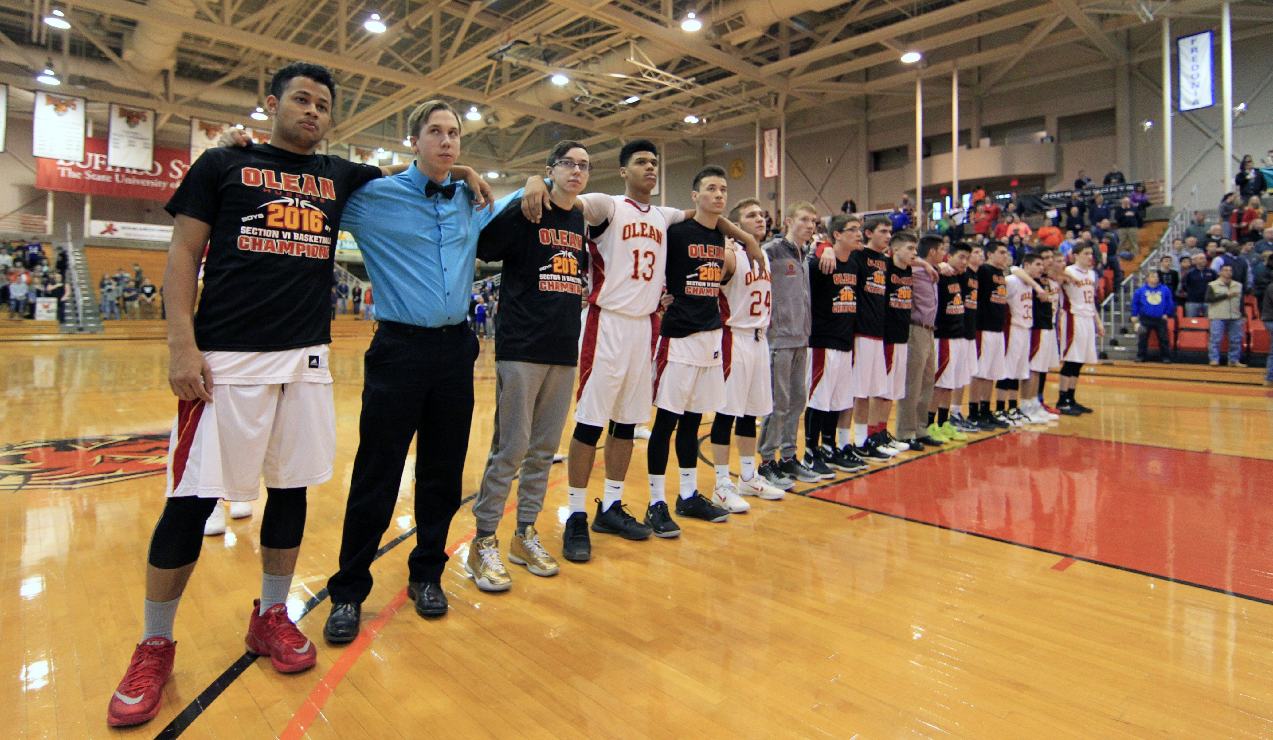 Olean and other area teams will be traveling to Binghamton instead of Glens Falls if they make the state final four in the immediate future.