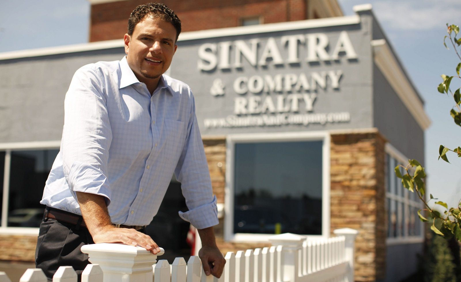 Developer Nick Sinatra is under fire for not paying property taxes on some properties in Buffalo and its suburbs,. He says he's challenging the assessments. (Derek Gee/News file photo)