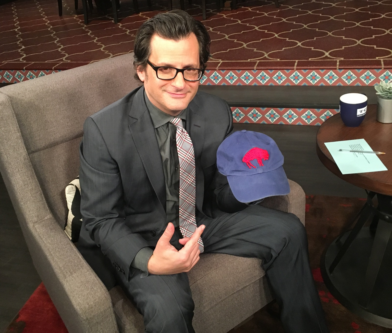 TCM host Ben Mankiewicz is a fan of classic movies - and the Buffalo Bills. (Courtesy TCM.)