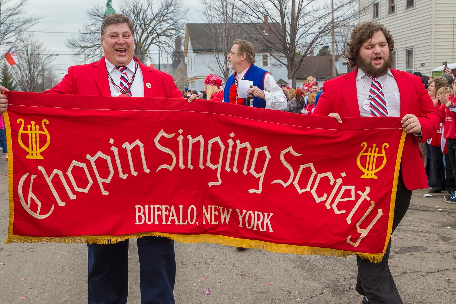Chopin Singing Society in the Dyngus Day Parade, 2015. (Don Nieman/Special to The News)