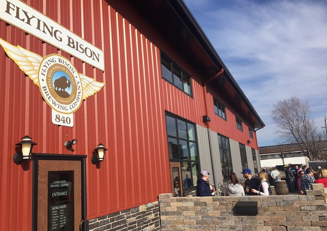 Flying Bison, which just celebrated its 16th anniversary, will run its usual summer beers. (Kevin Wise/Special to The News)