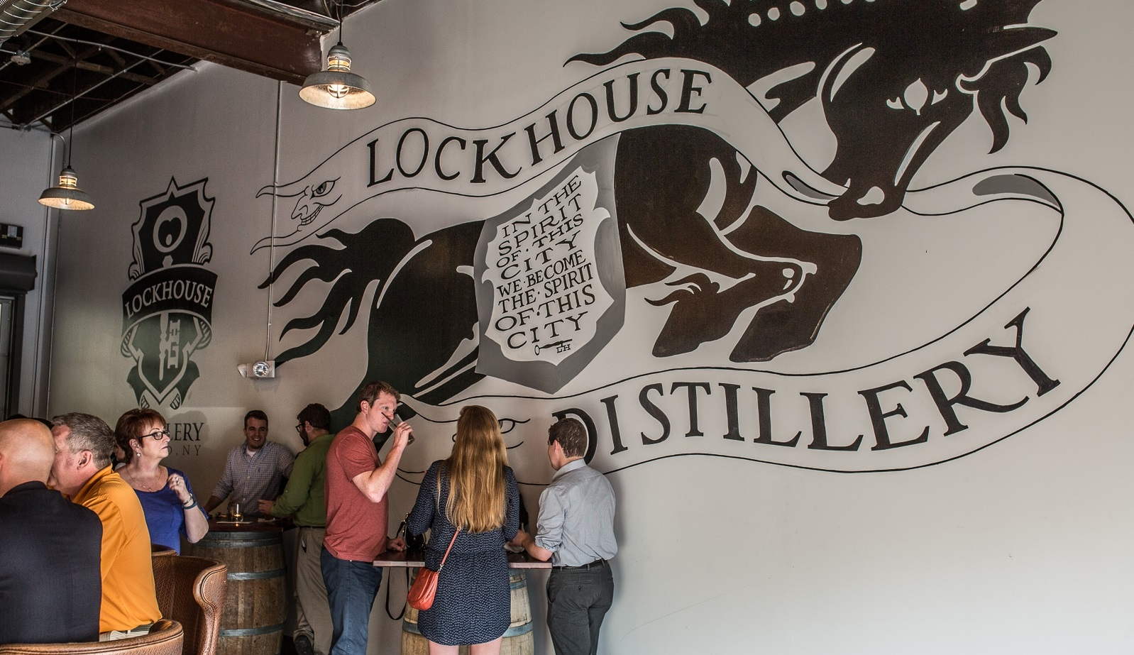 A look inside Lockhouse Distillery in the Cobblestone District in downtown Buffalo. (Chuck Alaimo/Special to The News)