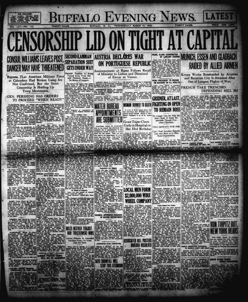 March 15 1916